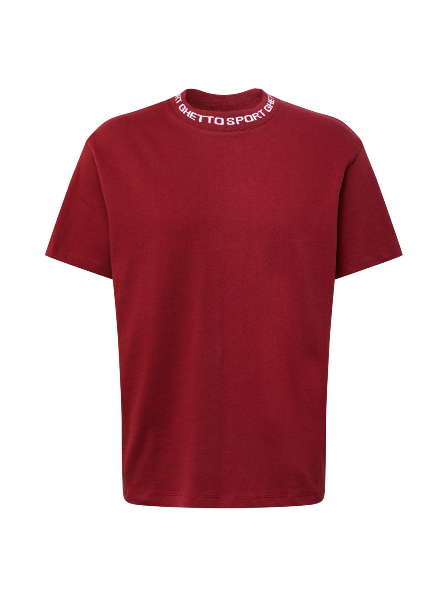 MASKULIN Tričko  rezavě červená