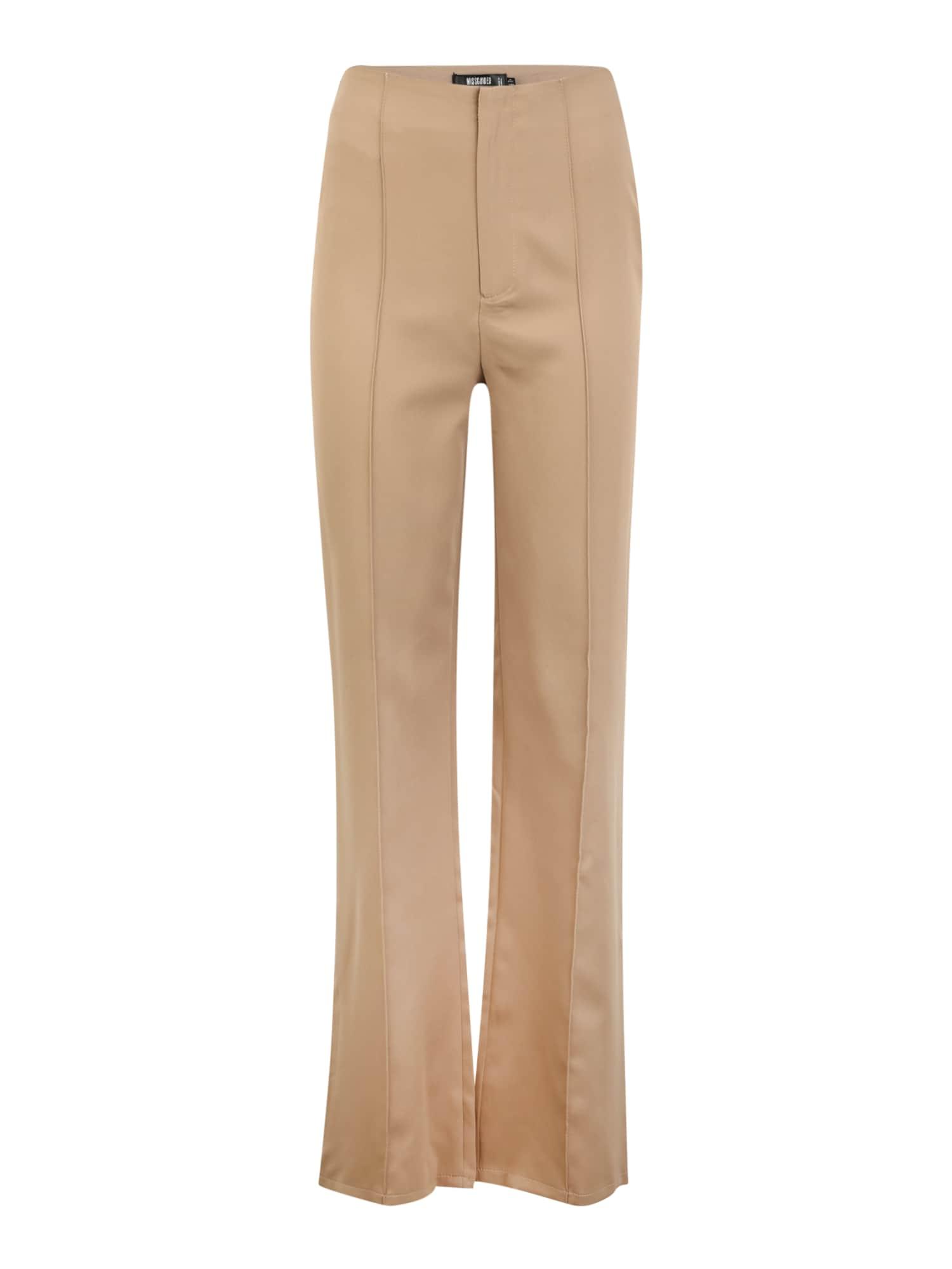 Missguided (Tall) Kelnės šviesiai ruda