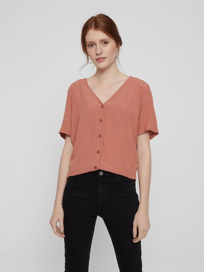 Pieces Cecilie Kurzarm Relaxed Button Down Top