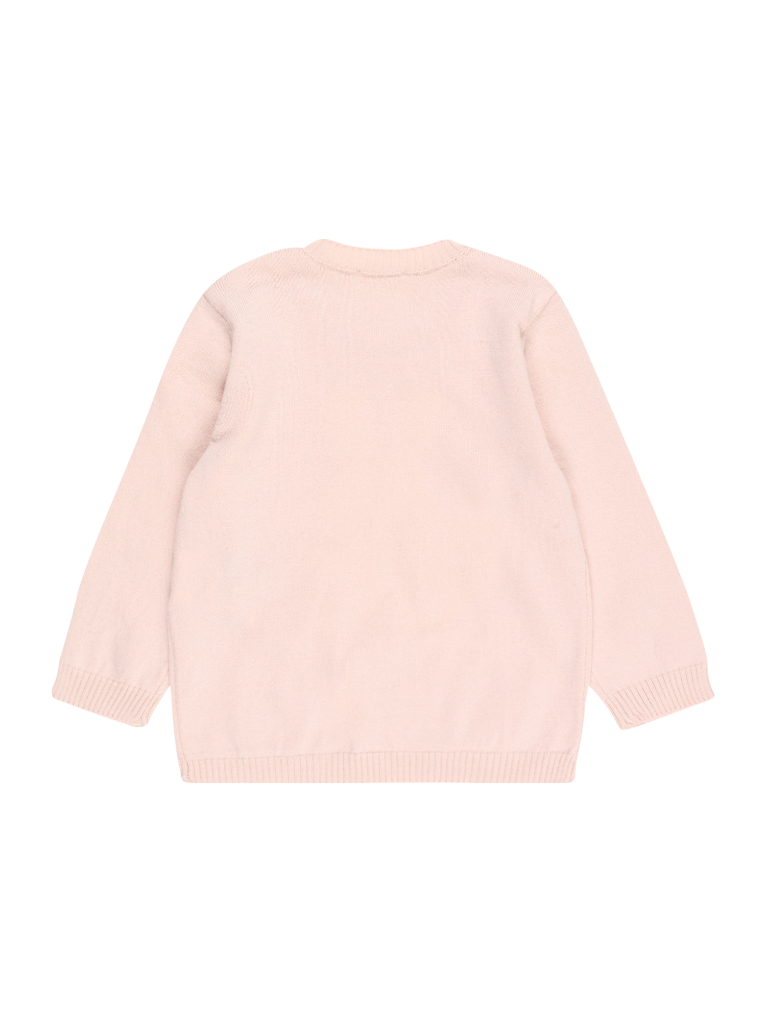 UNITED COLORS OF BENETTON Pull-over  rose / blanc