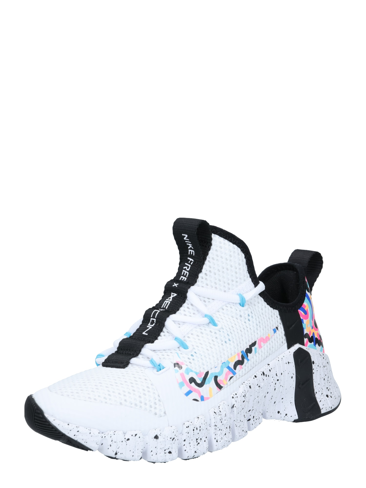 NIKE Sportovní boty 'Free Metcon 3'  pink / bílá / modrá