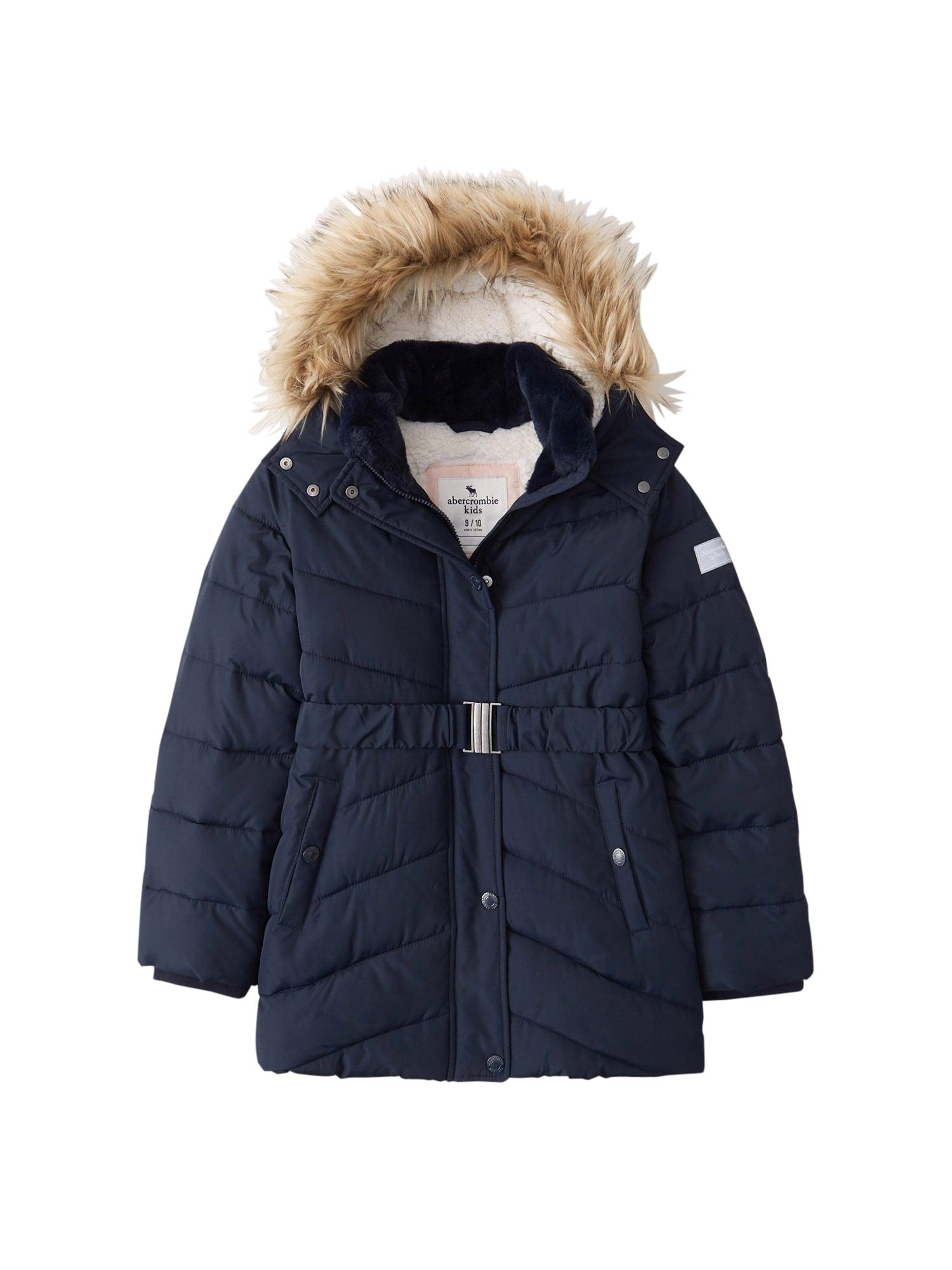 Abercrombie & Fitch Žieminė striukė 'ADVENTURE' tamsiai mėlyna