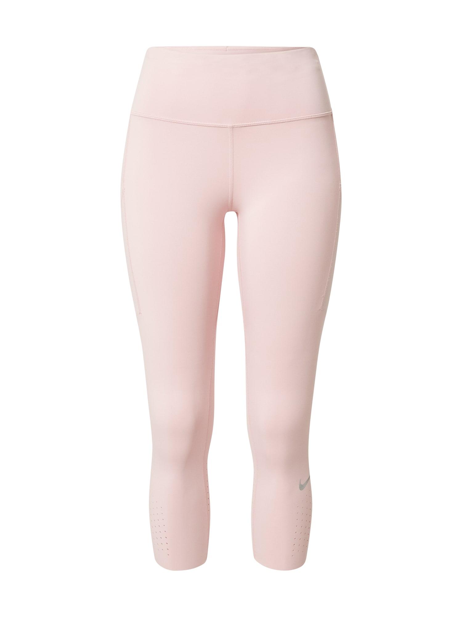 NIKE Sportinės kelnės 'Epic Luxe' rožių spalva