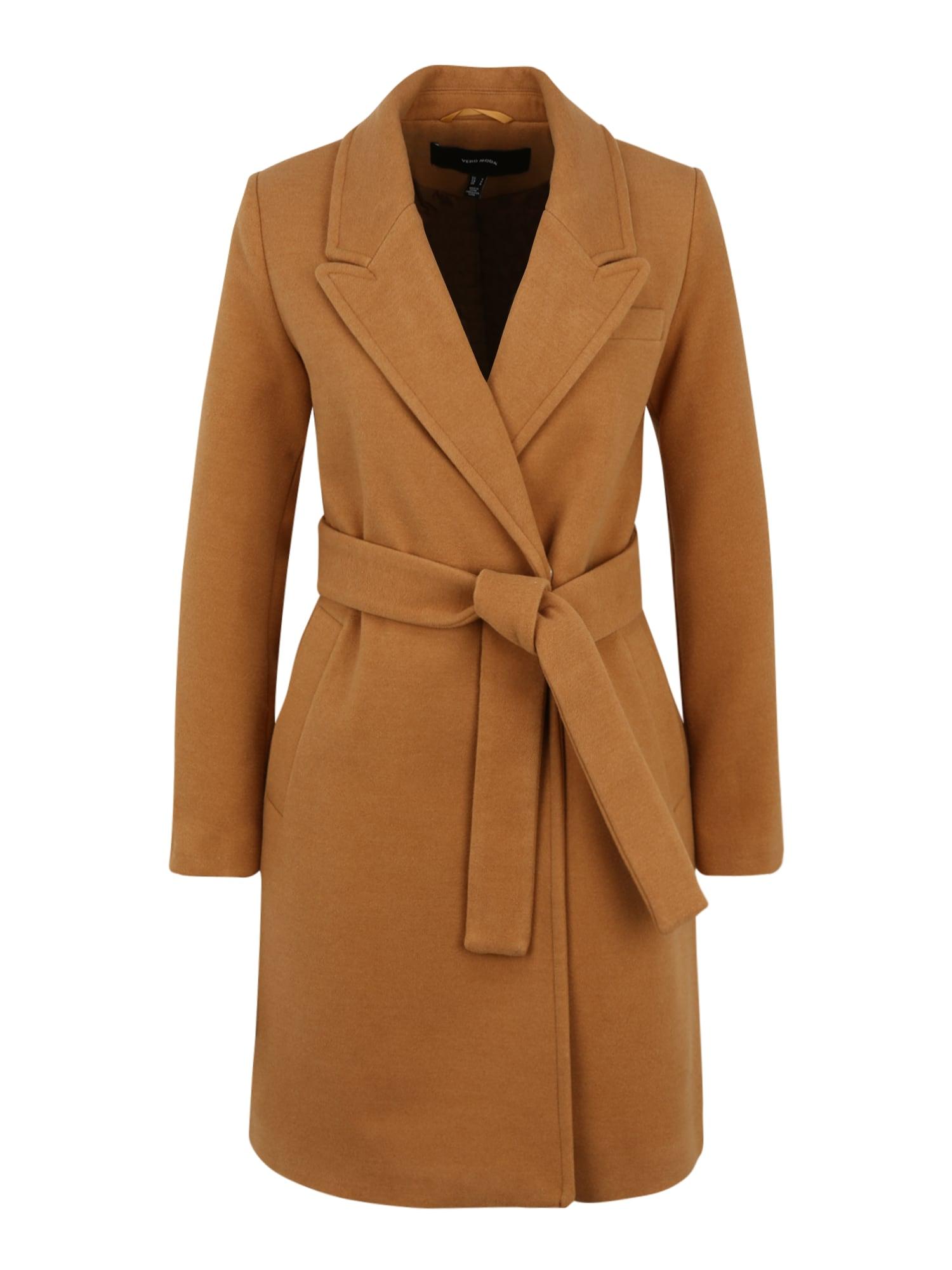 Vero Moda Petite Přechodný kabát 'Calahope'  hnědá