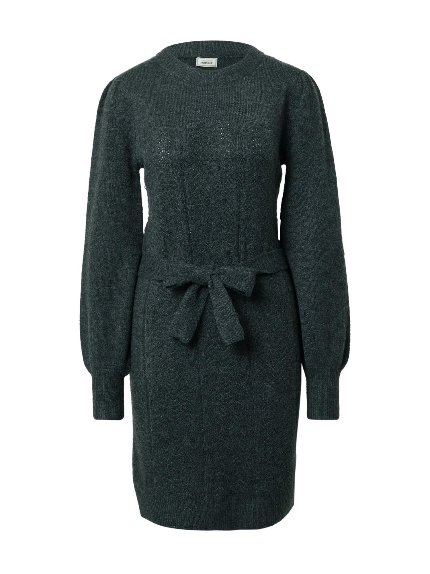 Pimkie Megzta suknelė žalia