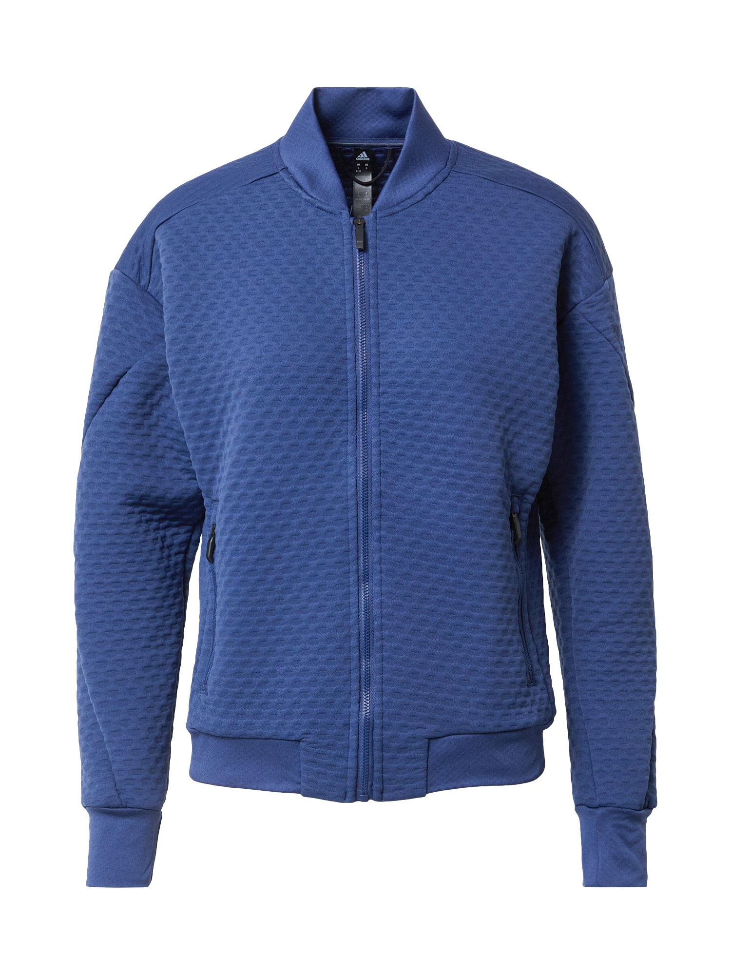 ADIDAS PERFORMANCE Funkcinis flisinis džemperis melsvai pilka