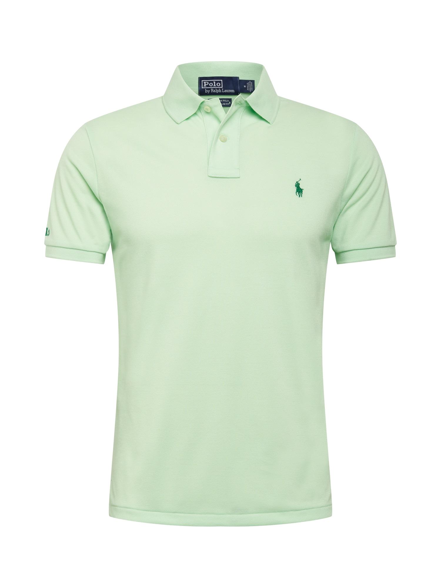 POLO RALPH LAUREN Marškinėliai šviesiai žalia