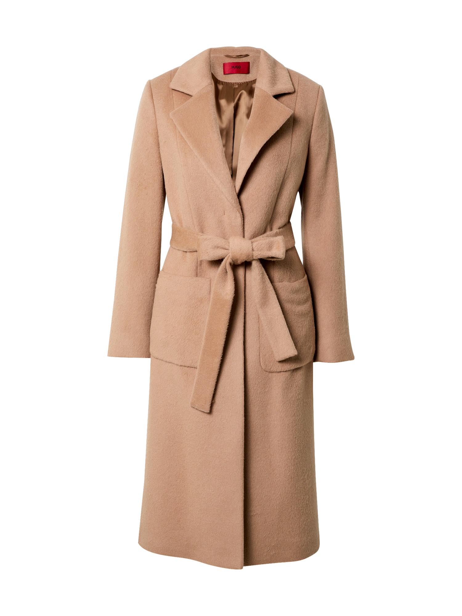 HUGO Rudeninis-žieminis paltas 'Mesua' šviesiai ruda