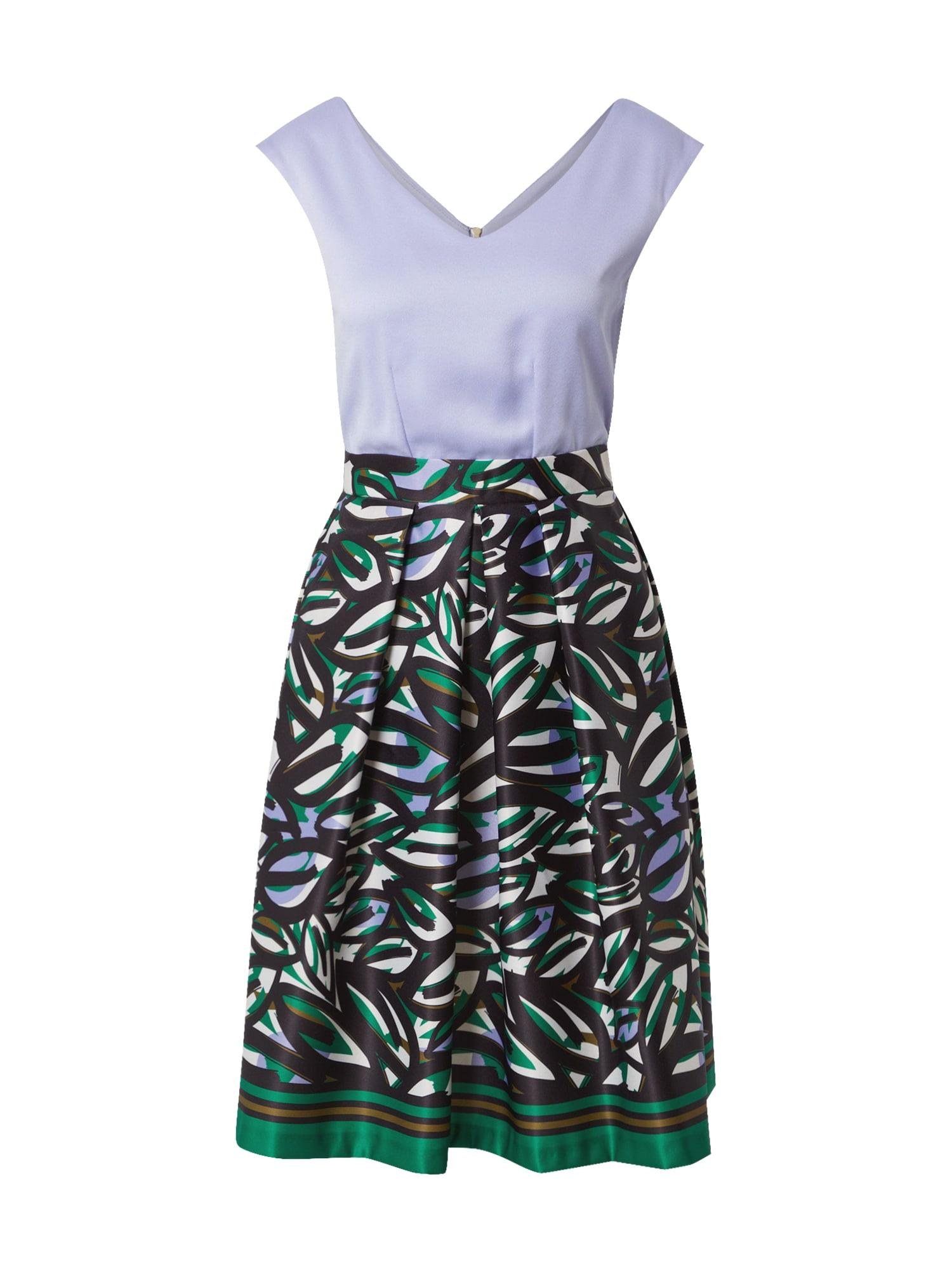 Closet London Suknelė purpurinė / mišrios spalvos / žalia