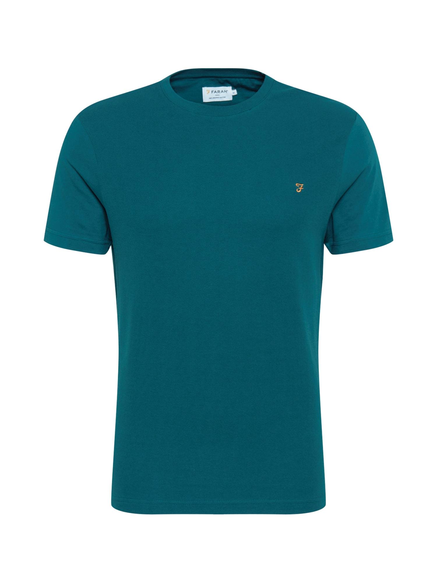 FARAH Marškinėliai benzino spalva