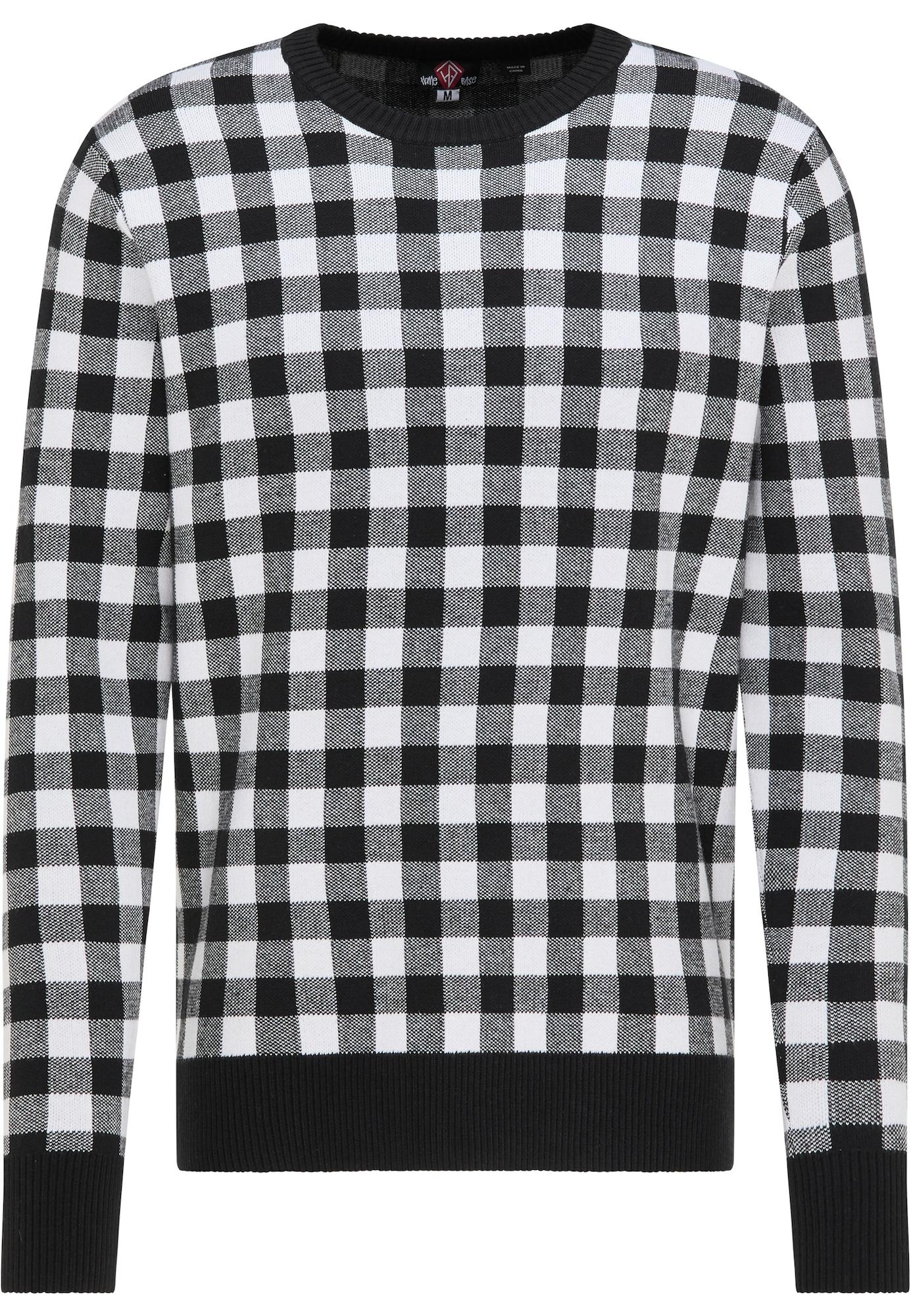 HOMEBASE Megztinis balta / juoda