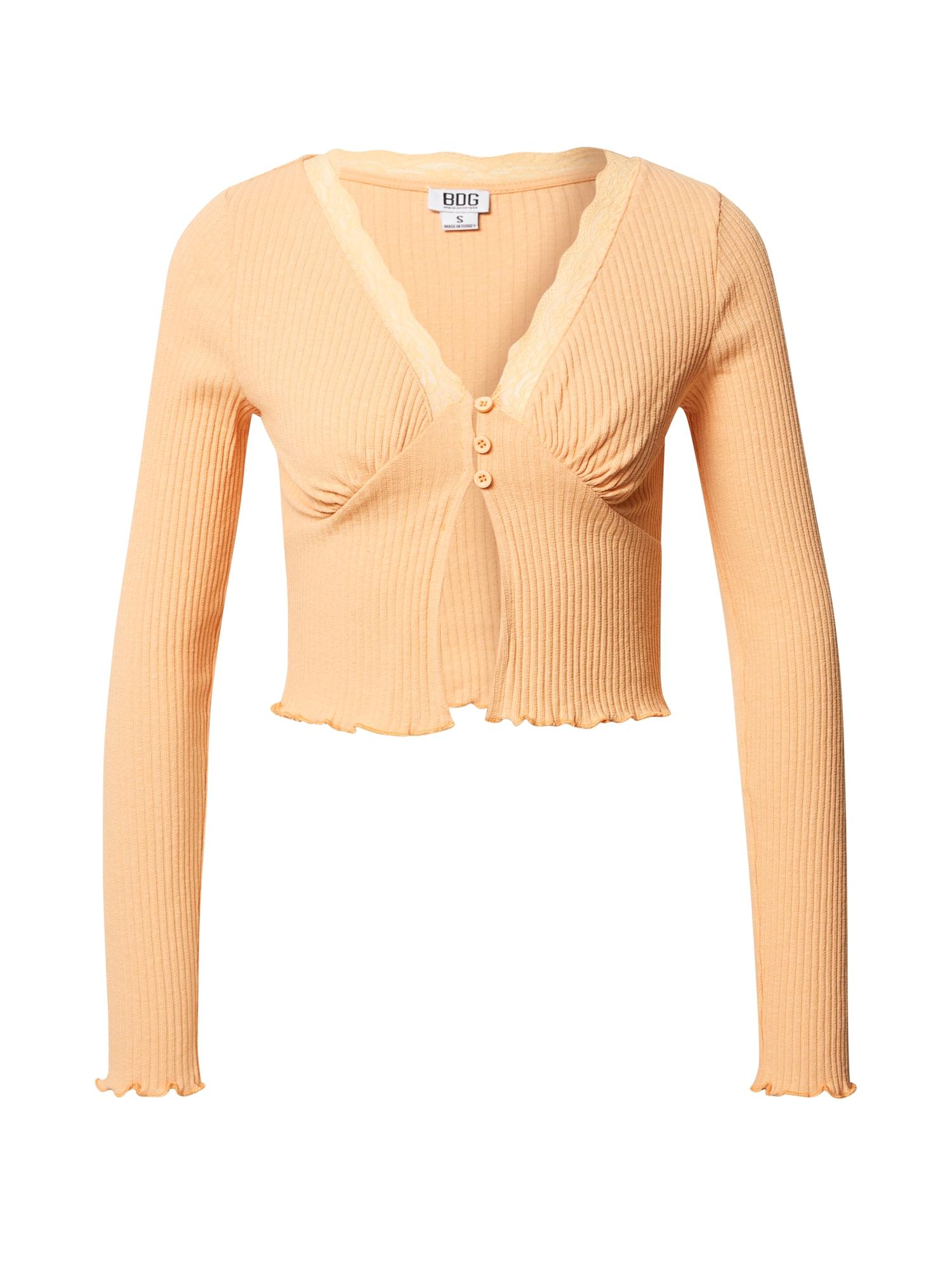 BDG Urban Outfitters Marškinėliai abrikosų spalva