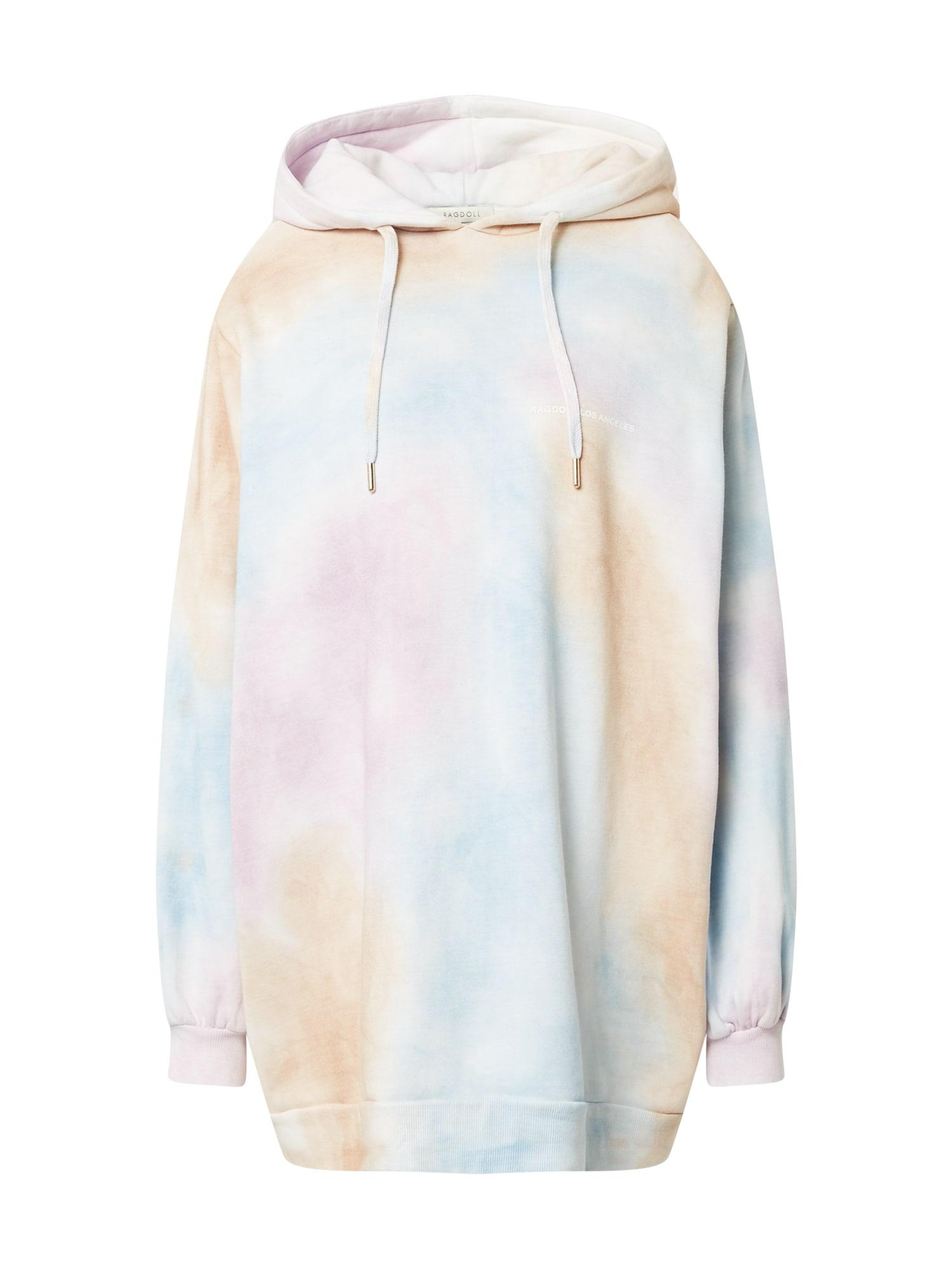 Ragdoll LA Megztinis be užsegimo balta / purpurinė / oranžinė / šviesiai mėlyna
