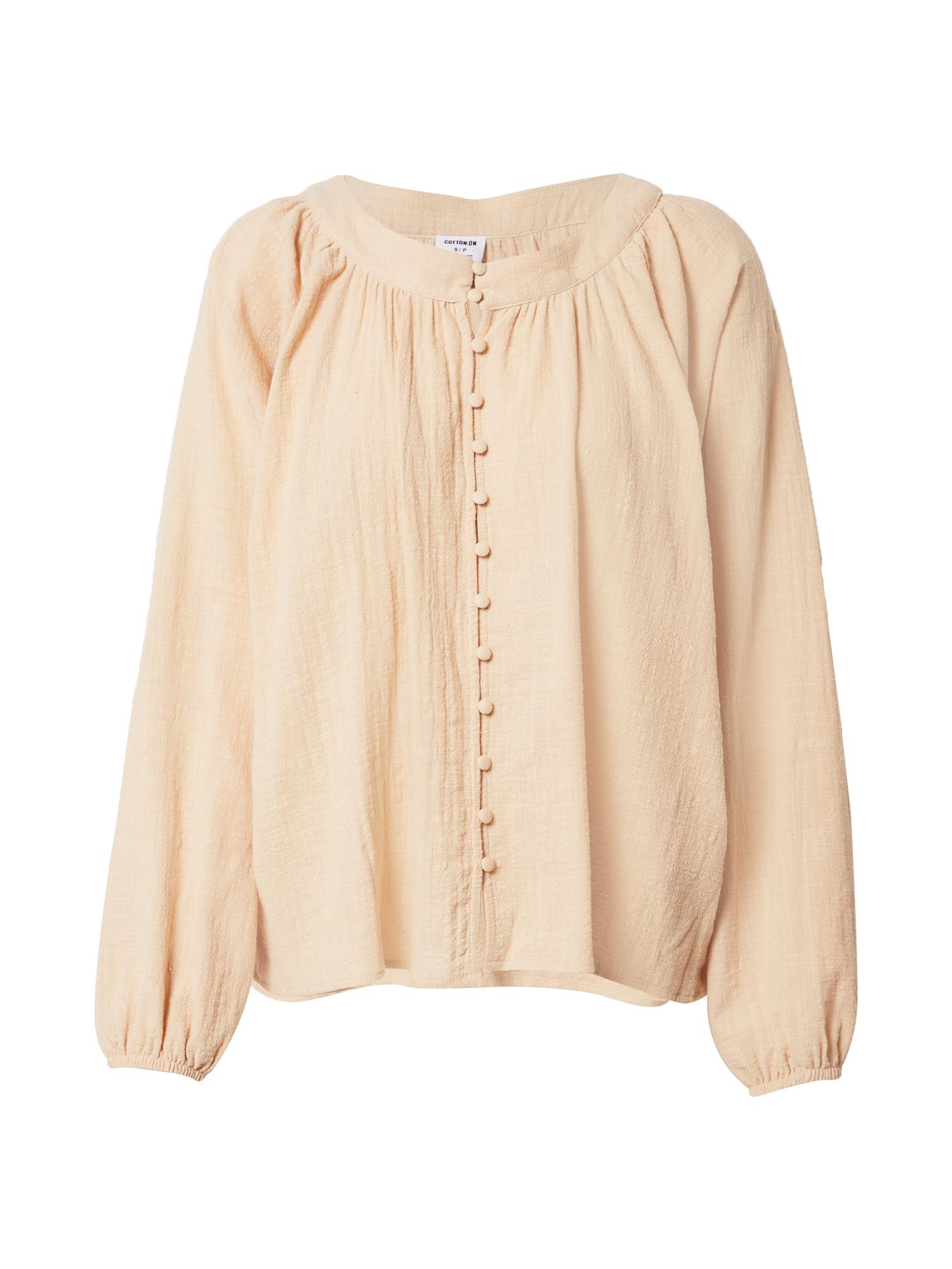 Cotton On Palaidinė abrikosų spalva