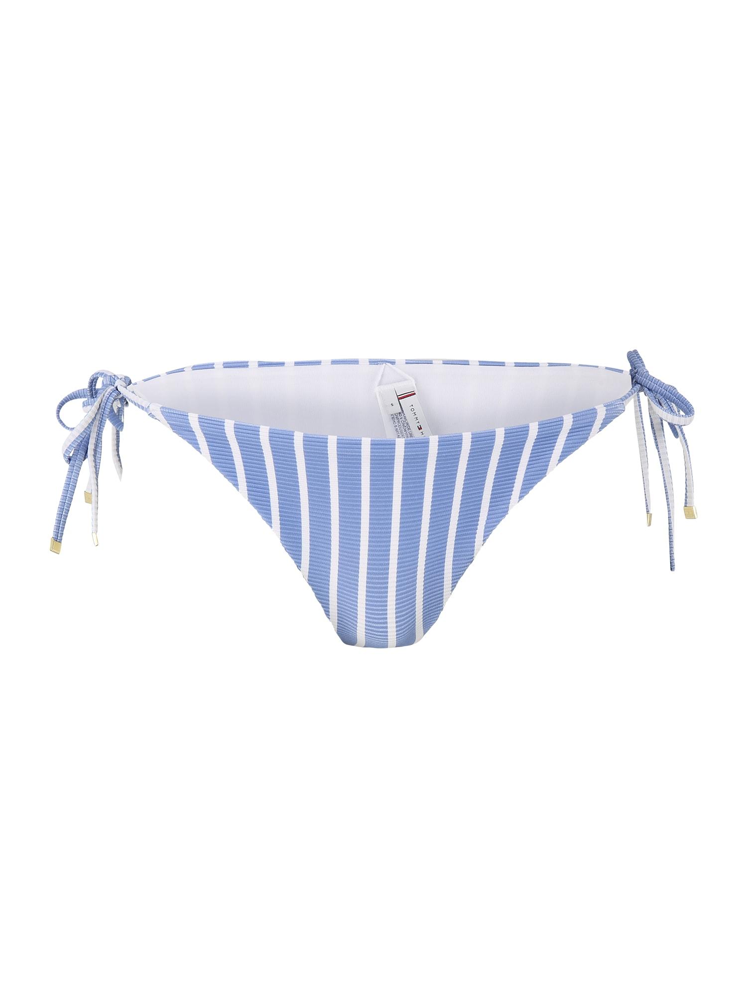 Tommy Hilfiger Underwear Bikinio kelnaitės mėlyna / balta