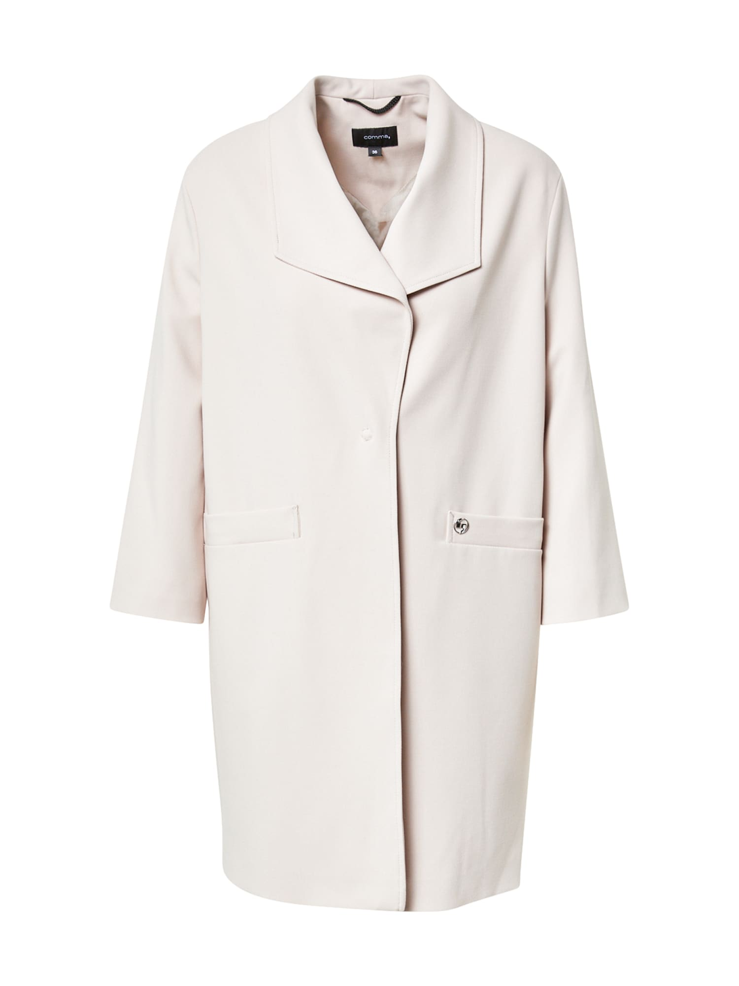 COMMA Demisezoninis paltas dramblio kaulo