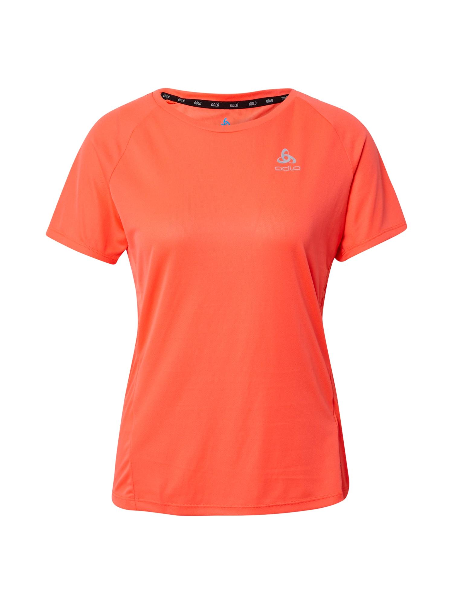 ODLO Sportiniai marškinėliai neoninė oranžinė