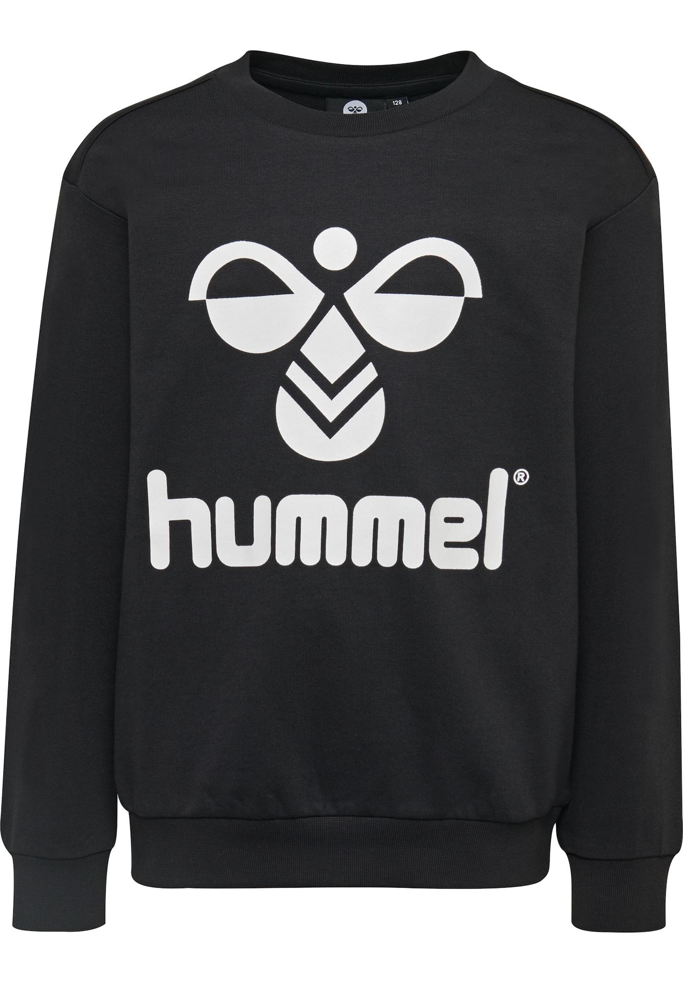 Hummel Megztinis be užsegimo juoda / balta
