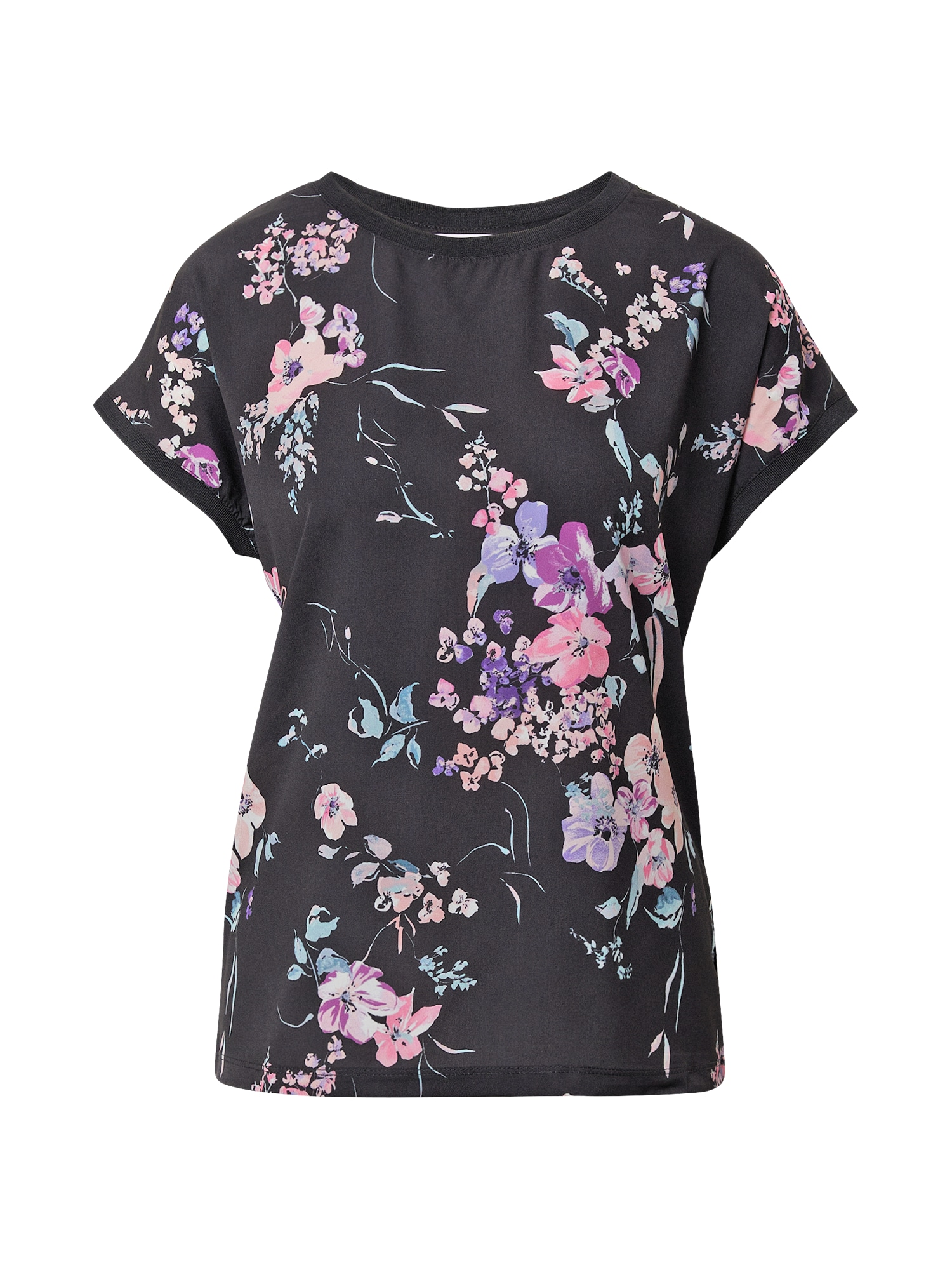 b.young Marškinėliai juoda / rožių spalva / mėtų spalva / purpurinė / levandų spalva