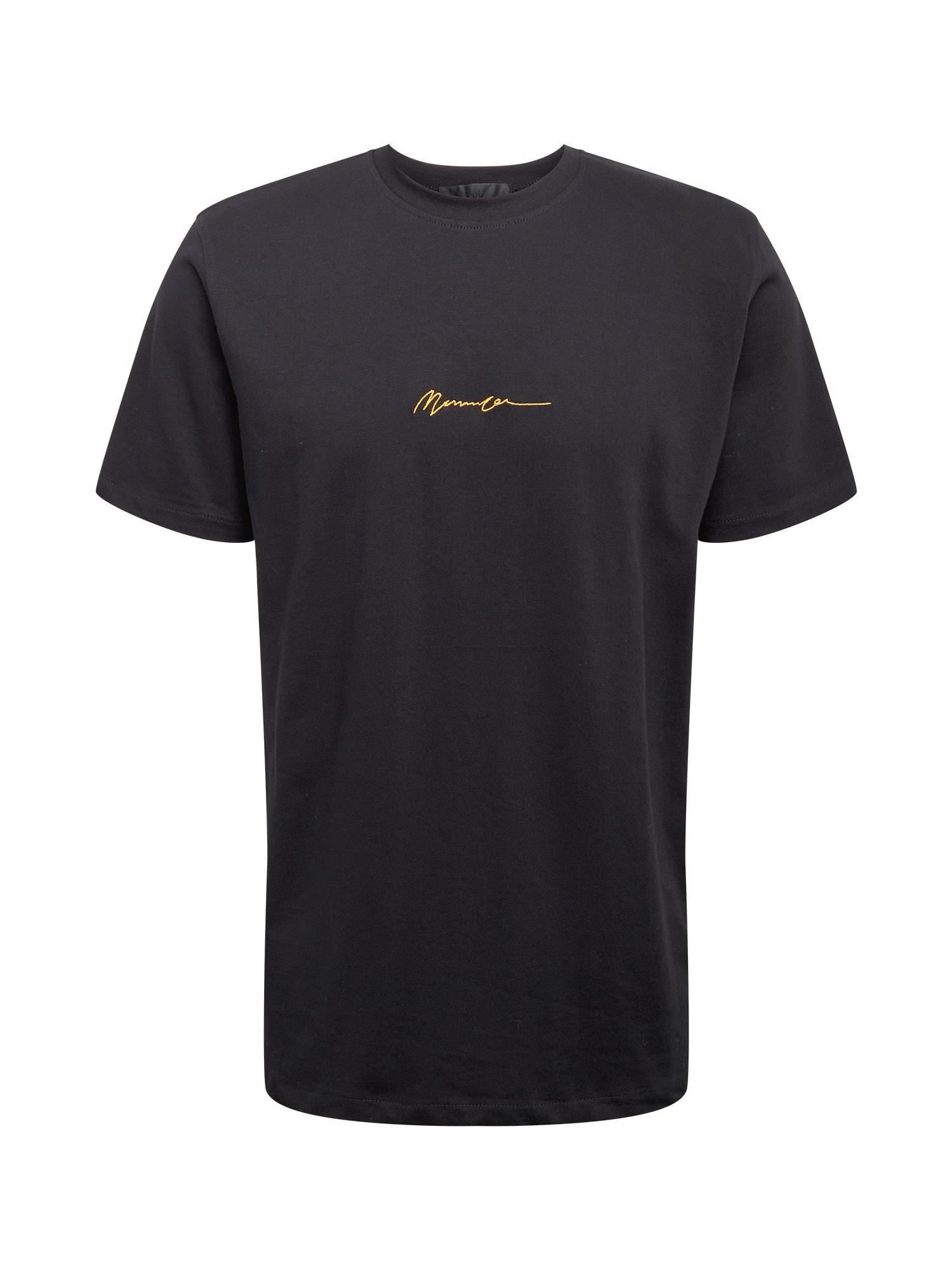 Mennace Marškinėliai juoda