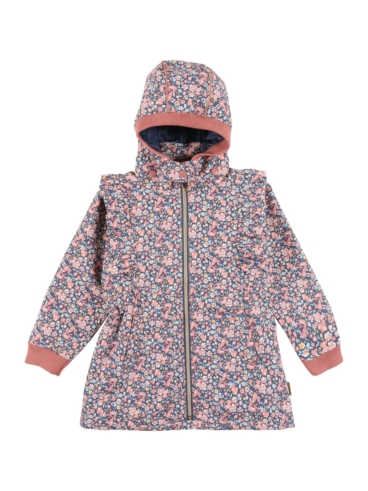 Hust & Claire Funkcinė striukė 'Ofelise' mėlyna / ryškiai rožinė spalva / mėtų spalva / šviesiai oranžinė