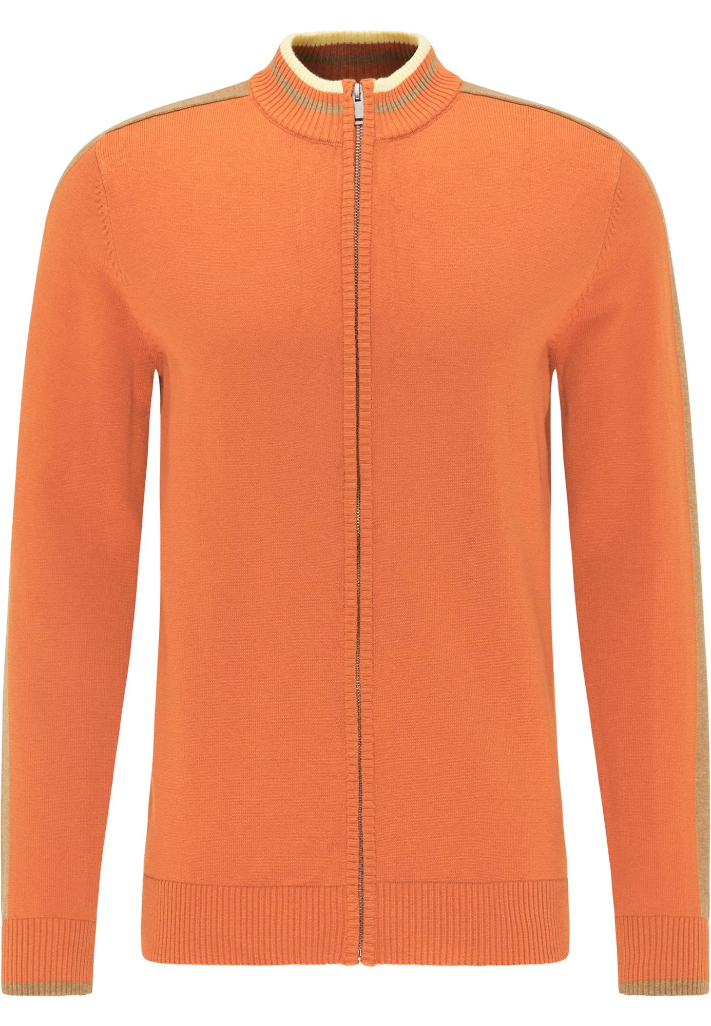 MO Kardiganas oranžinė / šviesiai geltona / šviesiai ruda