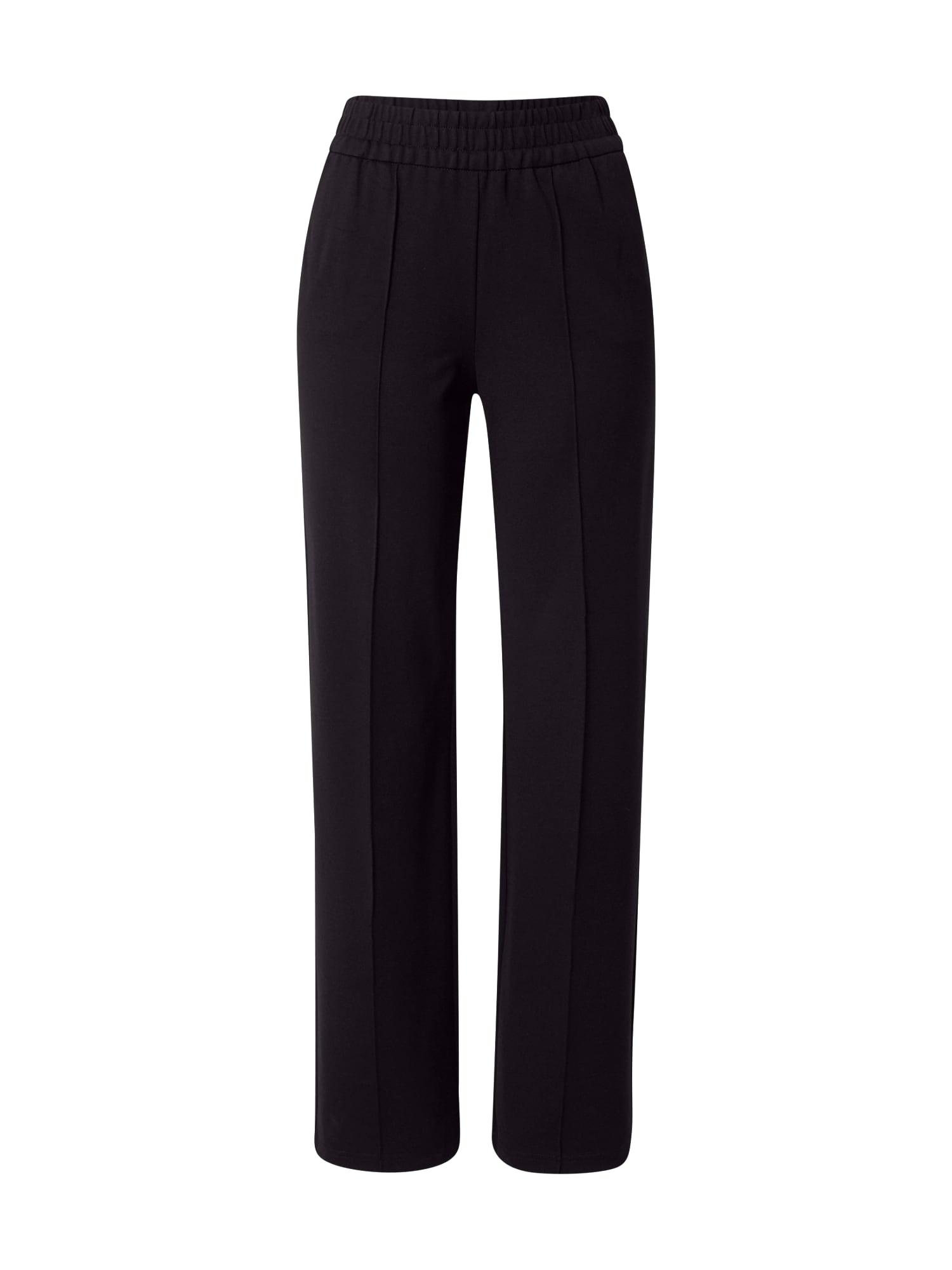 ONLY Kelnės su kantu 'POPTRASH' juoda