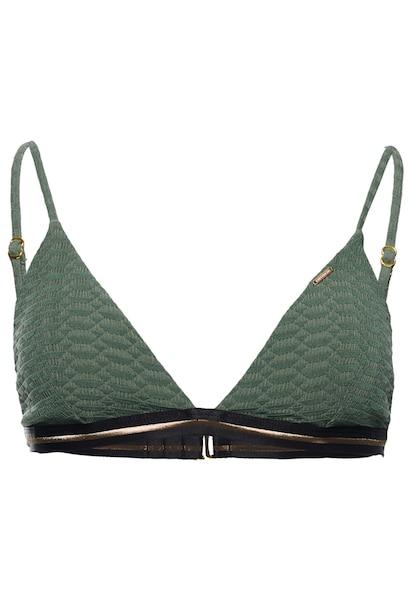 Bademode - Bikinitop › Superdry › oliv schwarz gold  - Onlineshop ABOUT YOU
