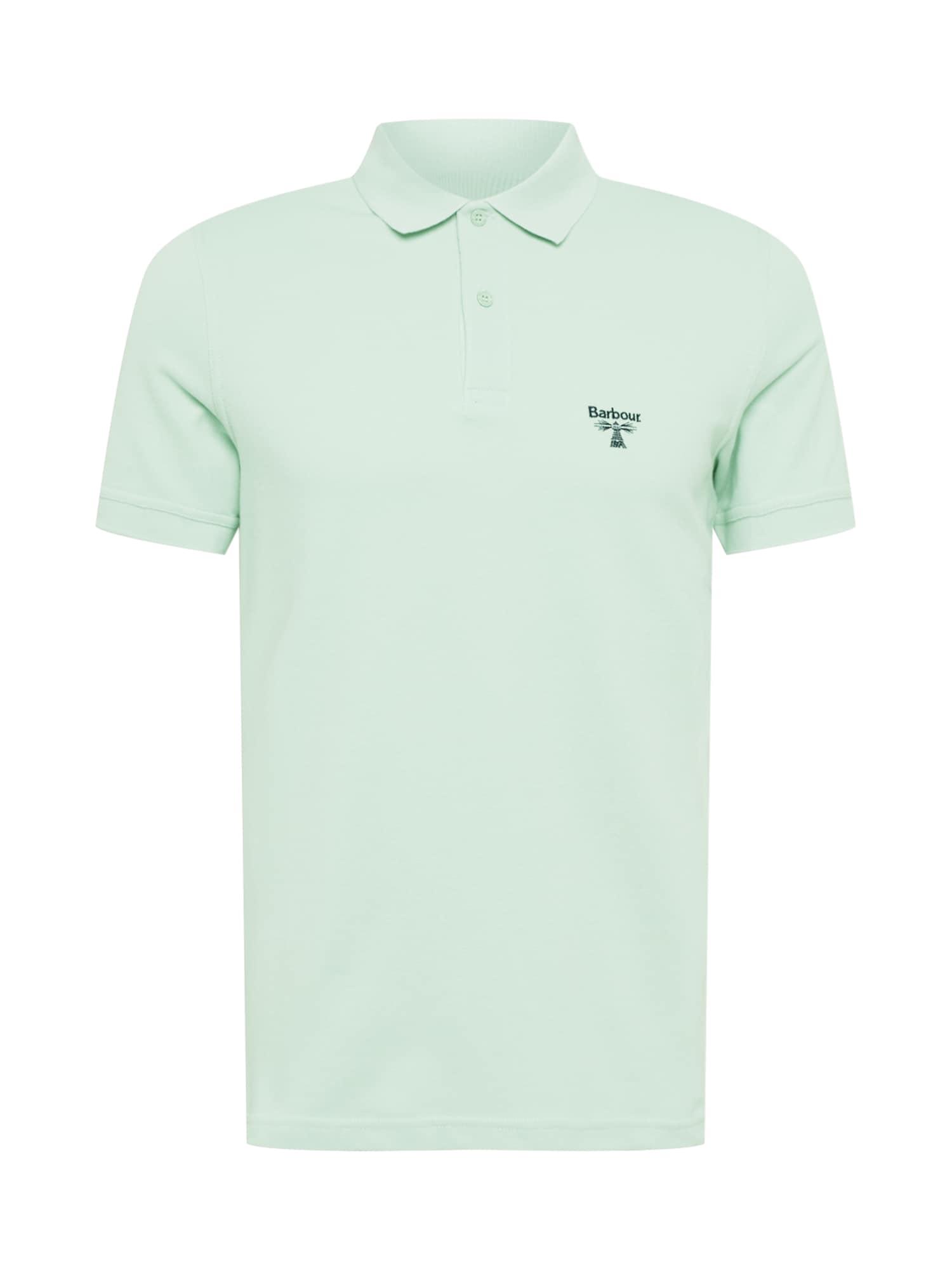 Barbour Beacon Marškinėliai mėtų spalva / tamsiai mėlyna
