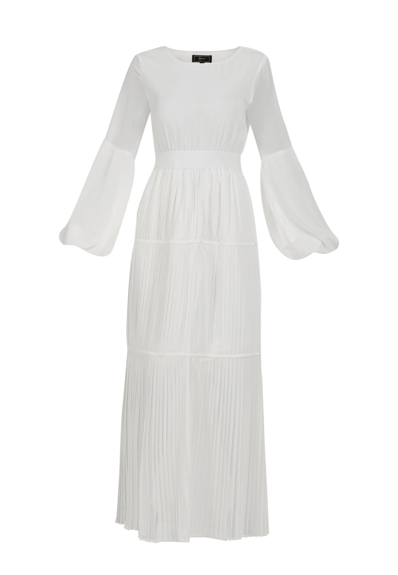 faina Vakarinė suknelė balta