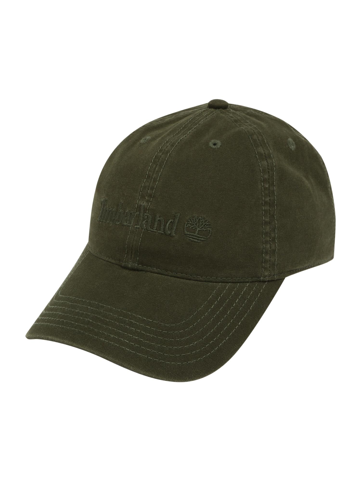 TIMBERLAND Kepurė tamsiai žalia