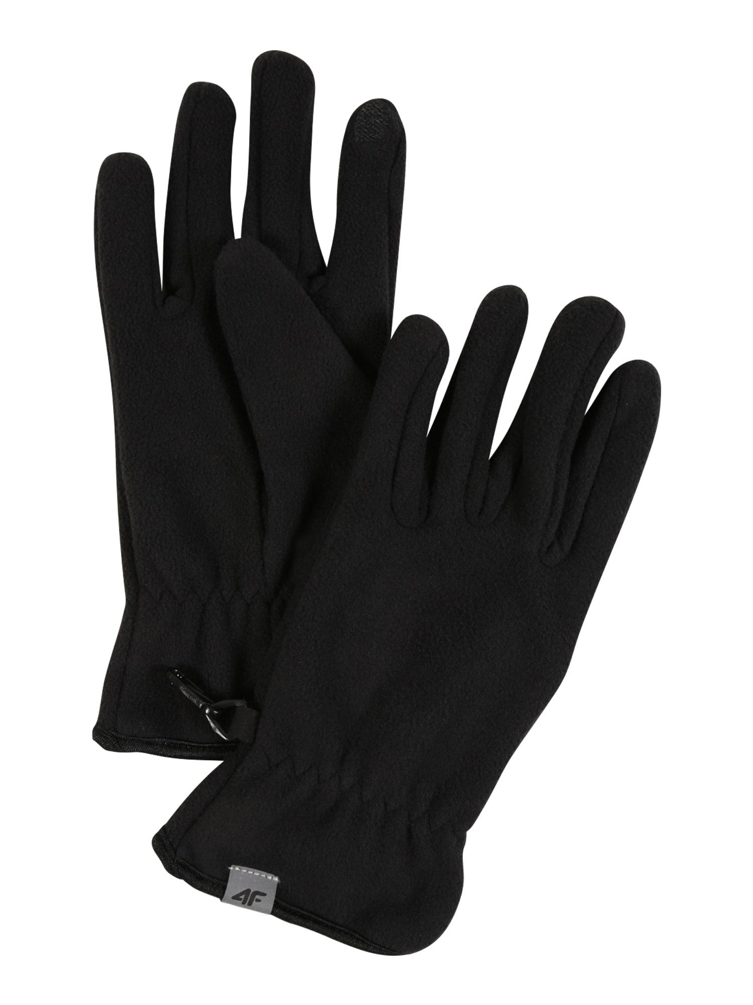 4F Sportinės pirštinės juoda