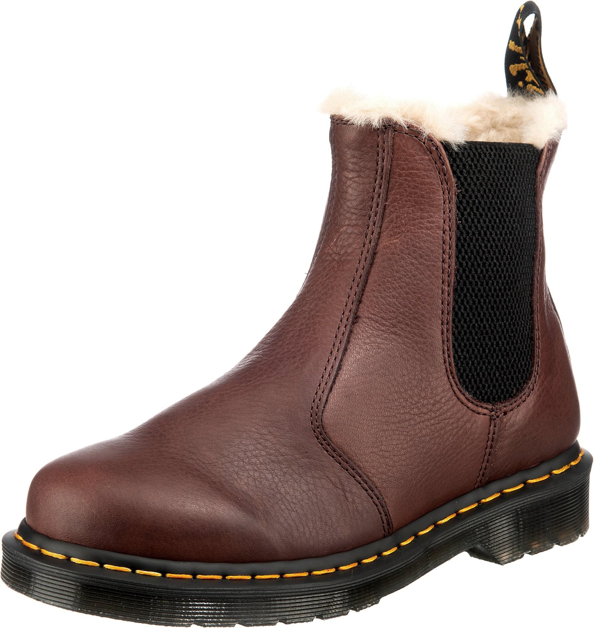 """Dr. Martens """"Chelsea"""" batai kaštoninė spalva / juoda"""