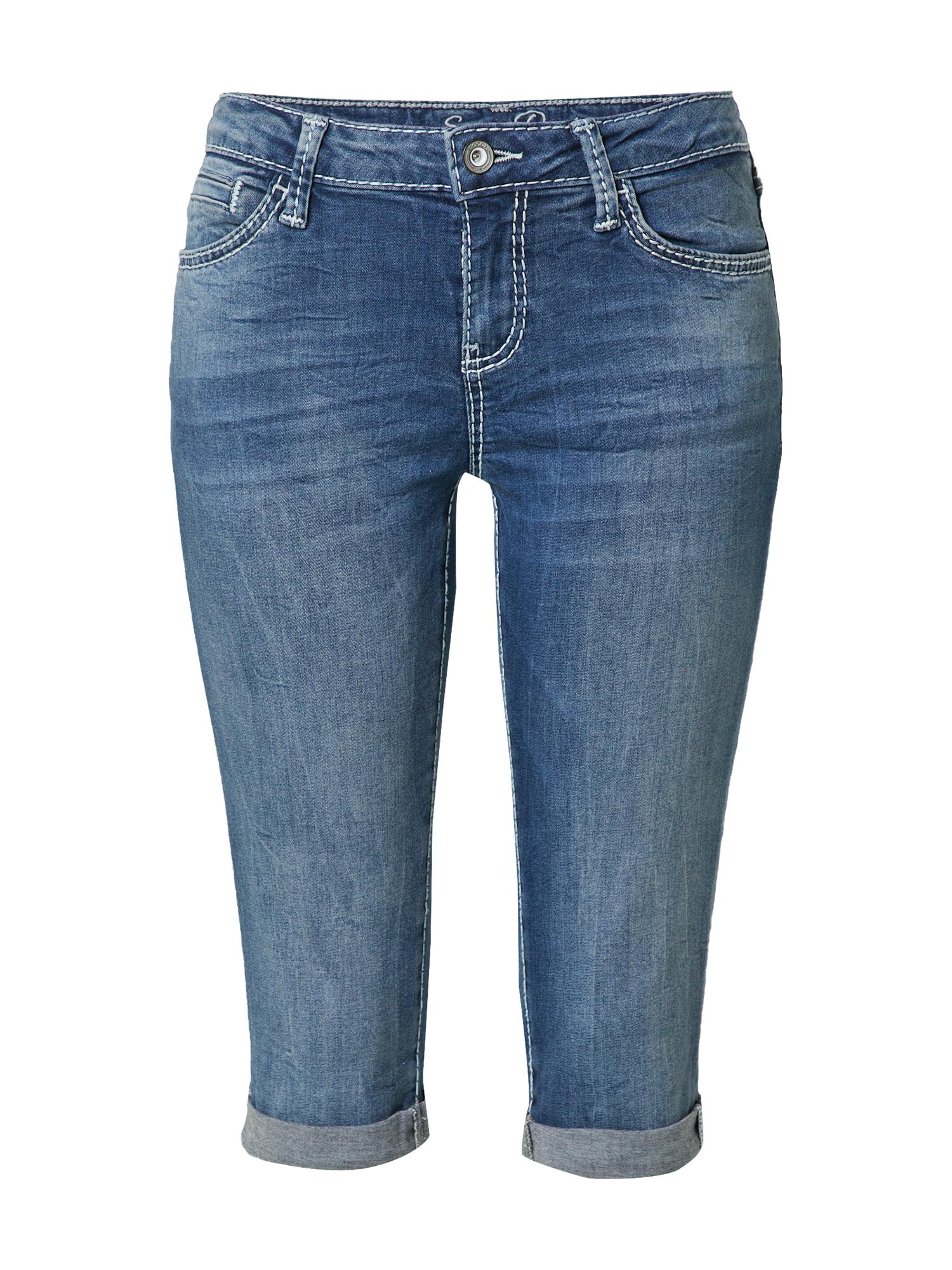 Soccx Kelnės tamsiai (džinso) mėlyna