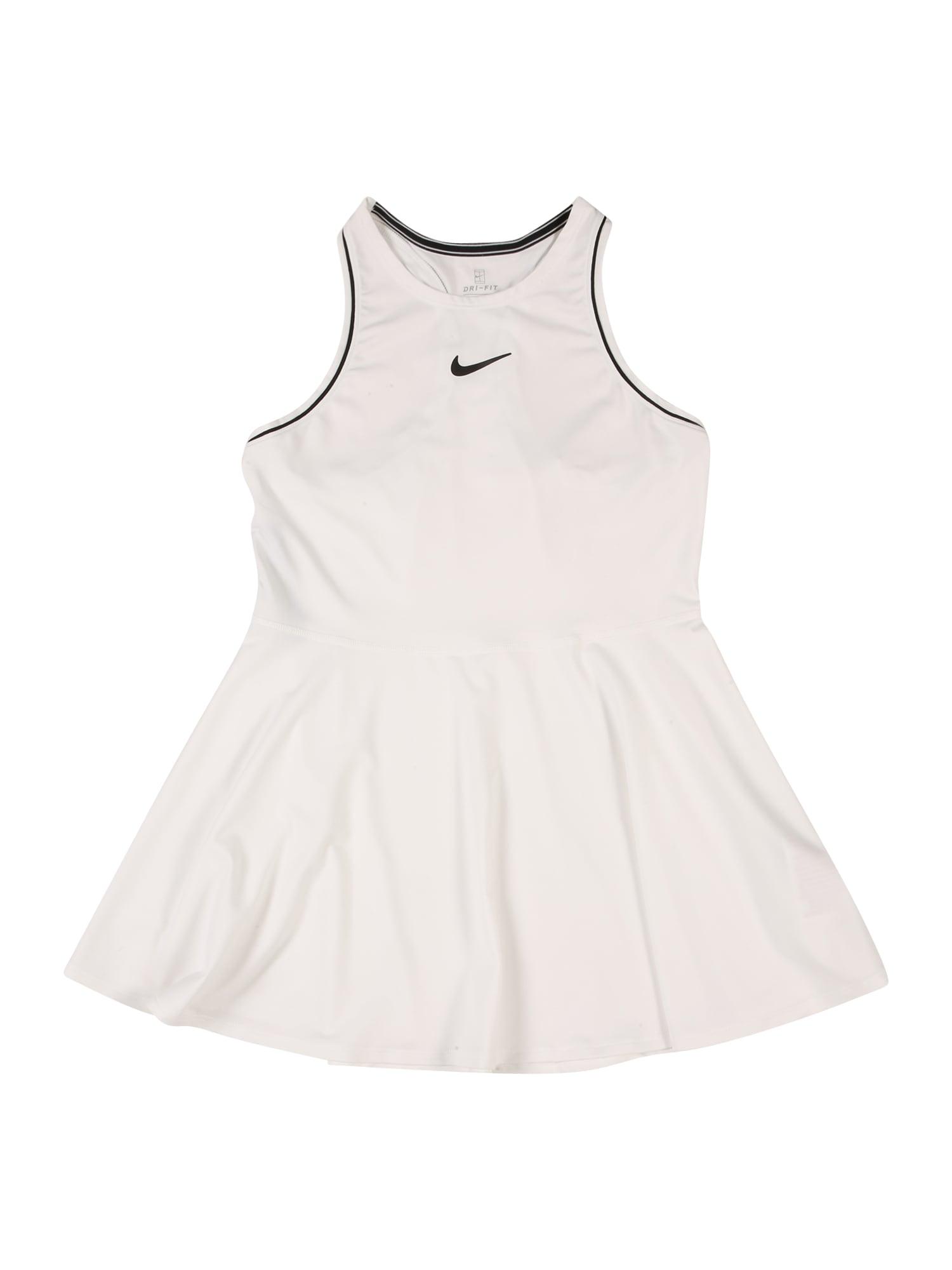 NIKE Športové šaty  biela