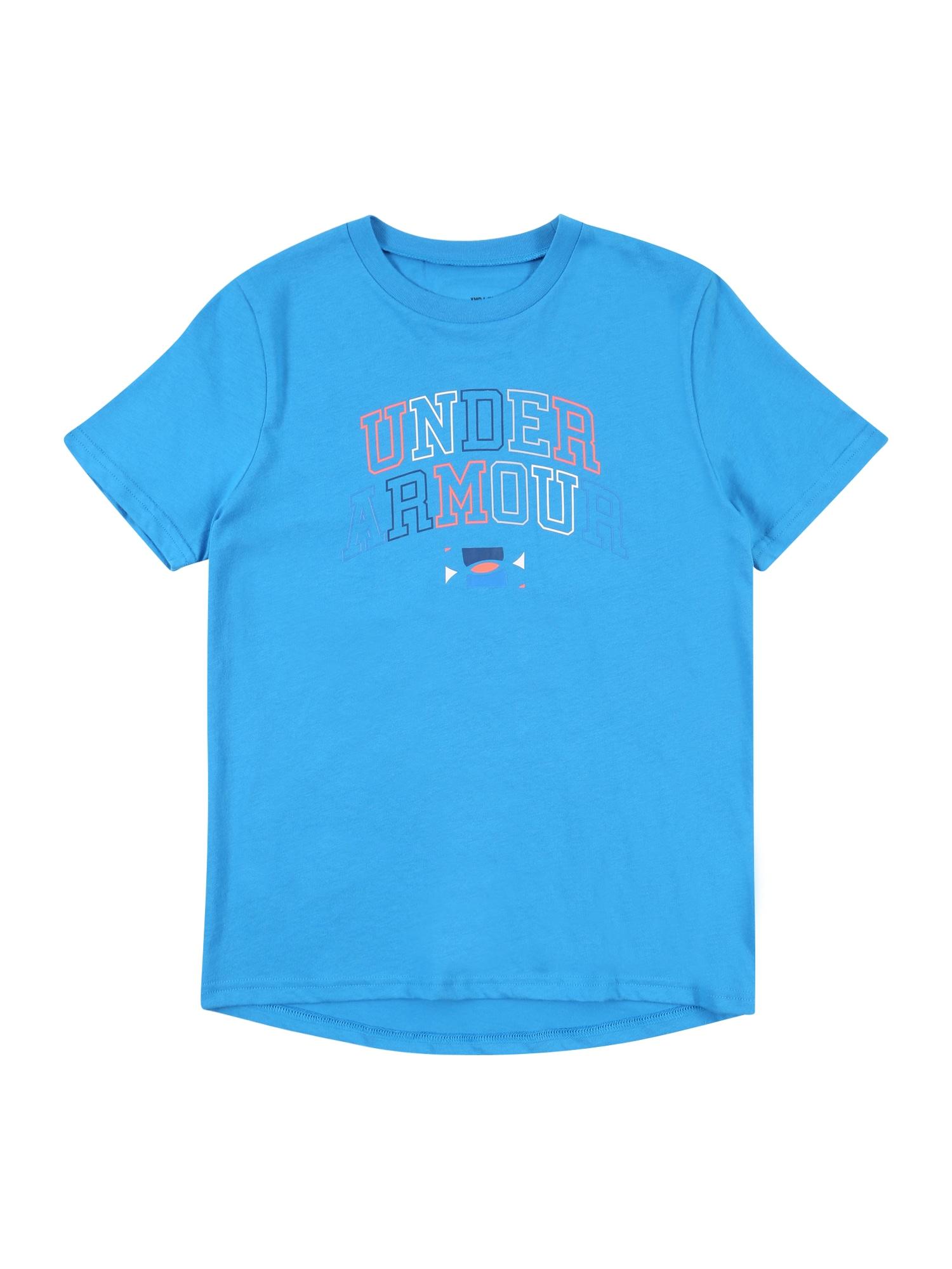 UNDER ARMOUR Sportiniai marškinėliai mėlyna