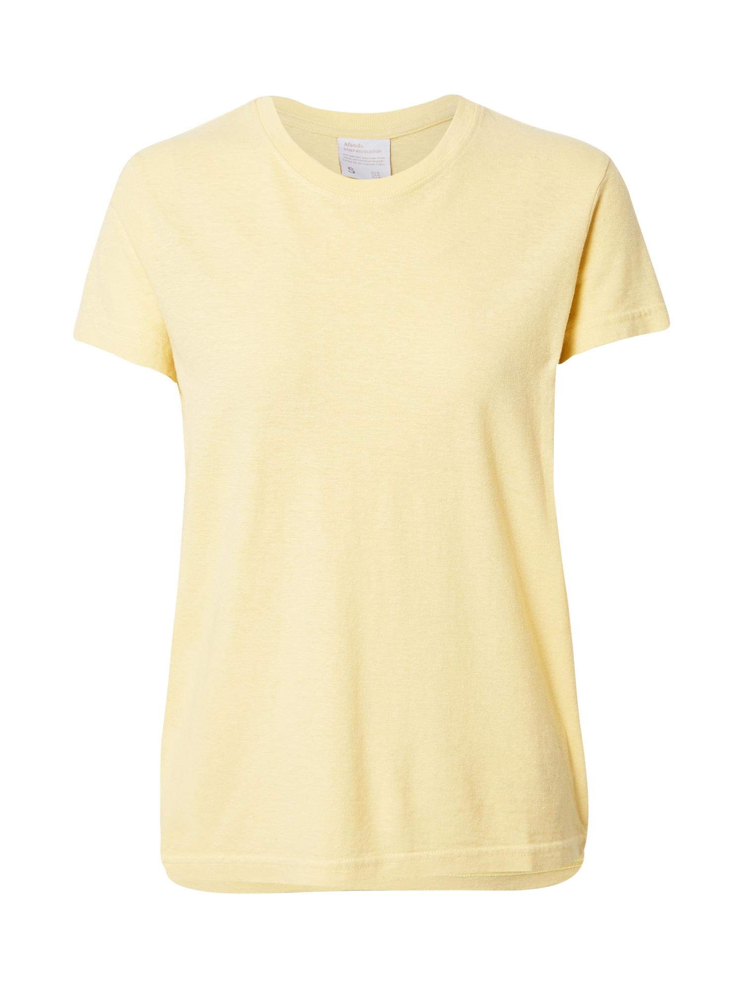 Afends Marškinėliai geltona