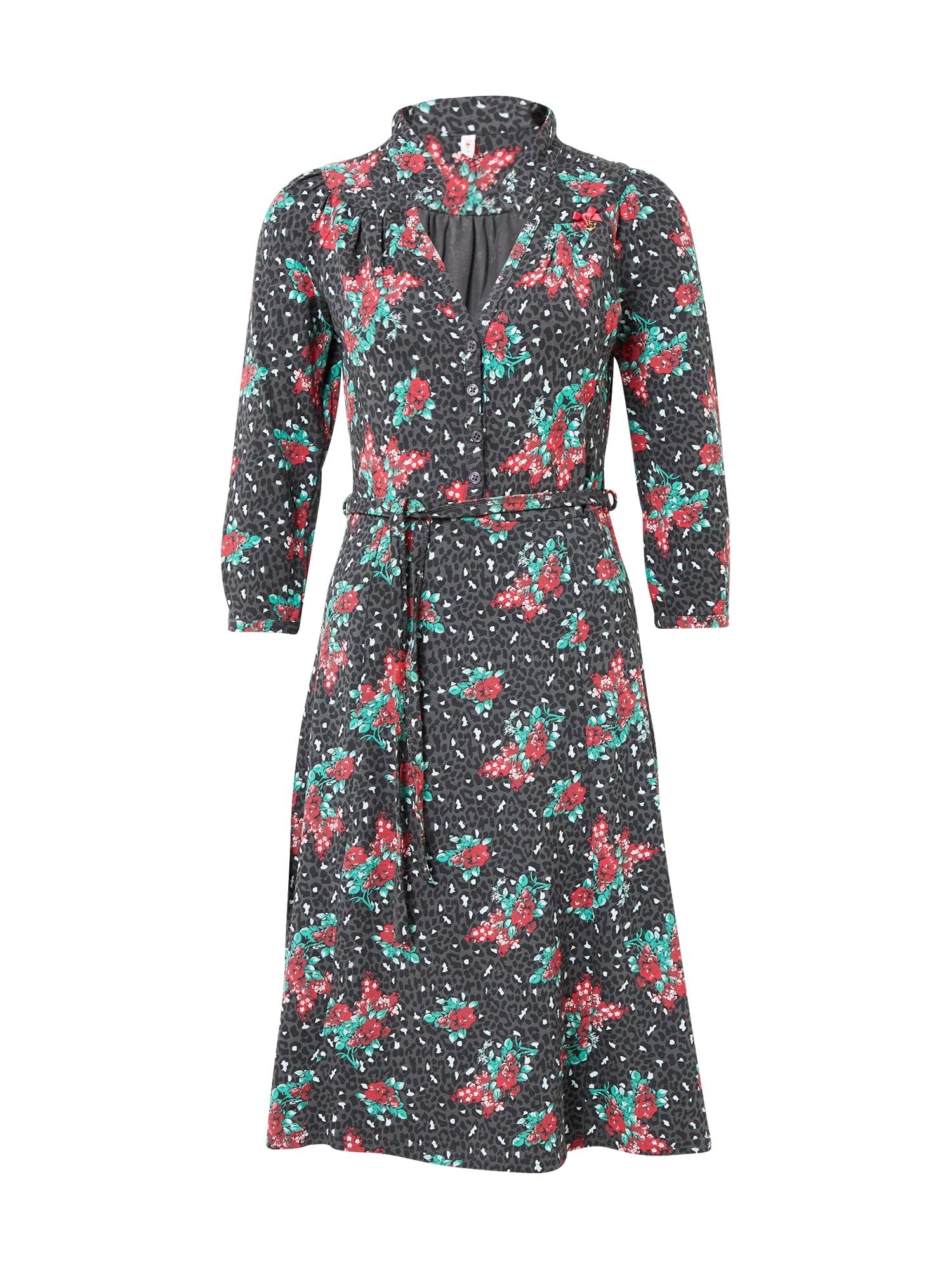 Blutsgeschwister Palaidinės tipo suknelė pilka / mišrios spalvos