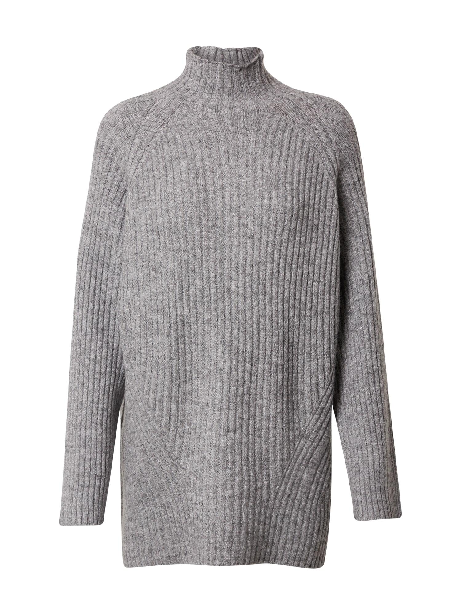 24COLOURS Megztinis bazalto pilka