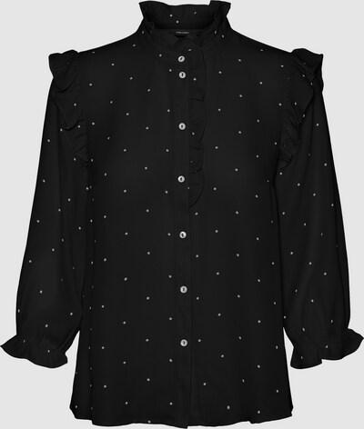 Vero Moda Curve Marley gepunktetes Hemd mit 3/4-Ärmeln