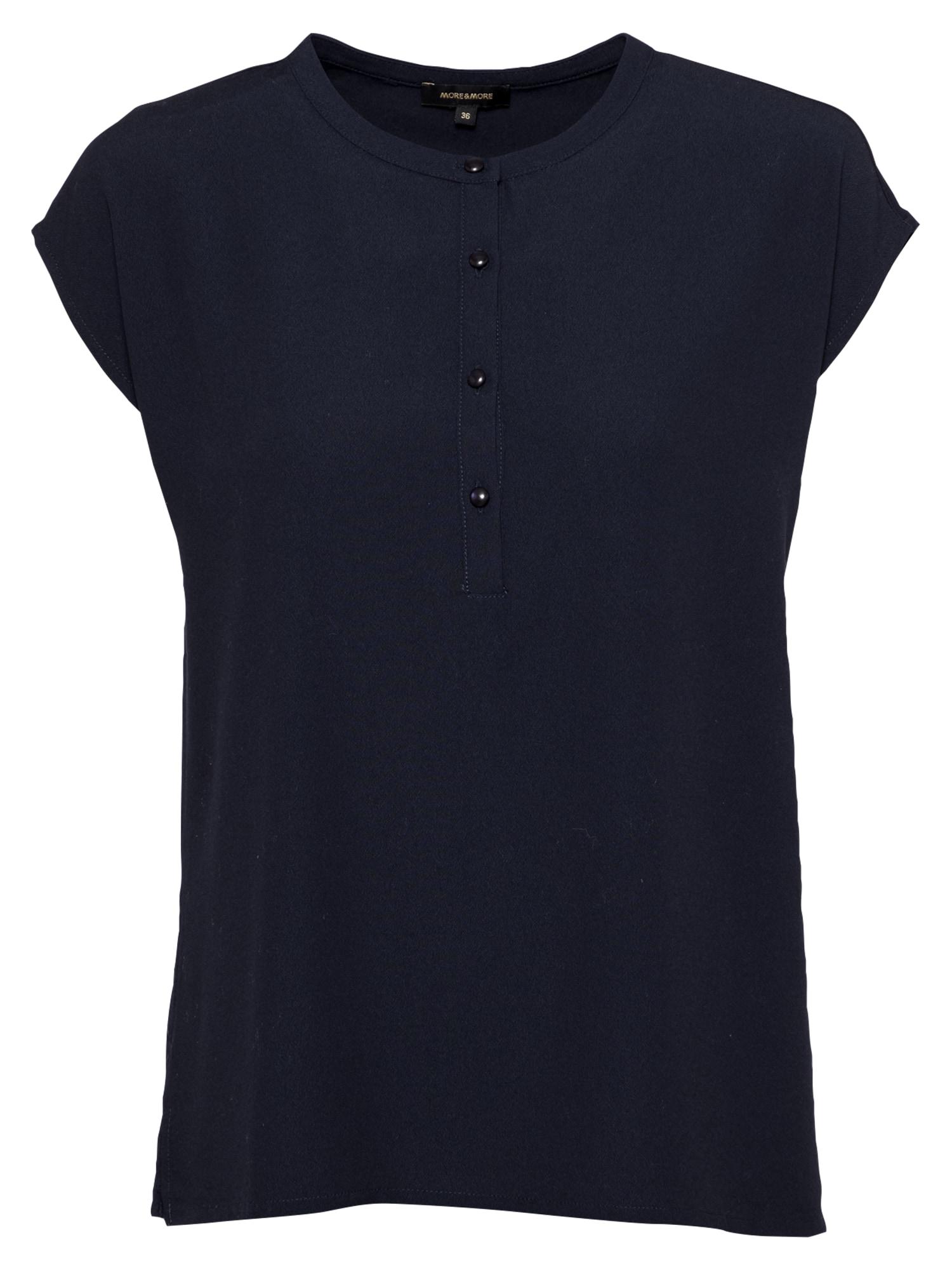 MORE & MORE Marškinėliai ultramarino mėlyna (skaidri)