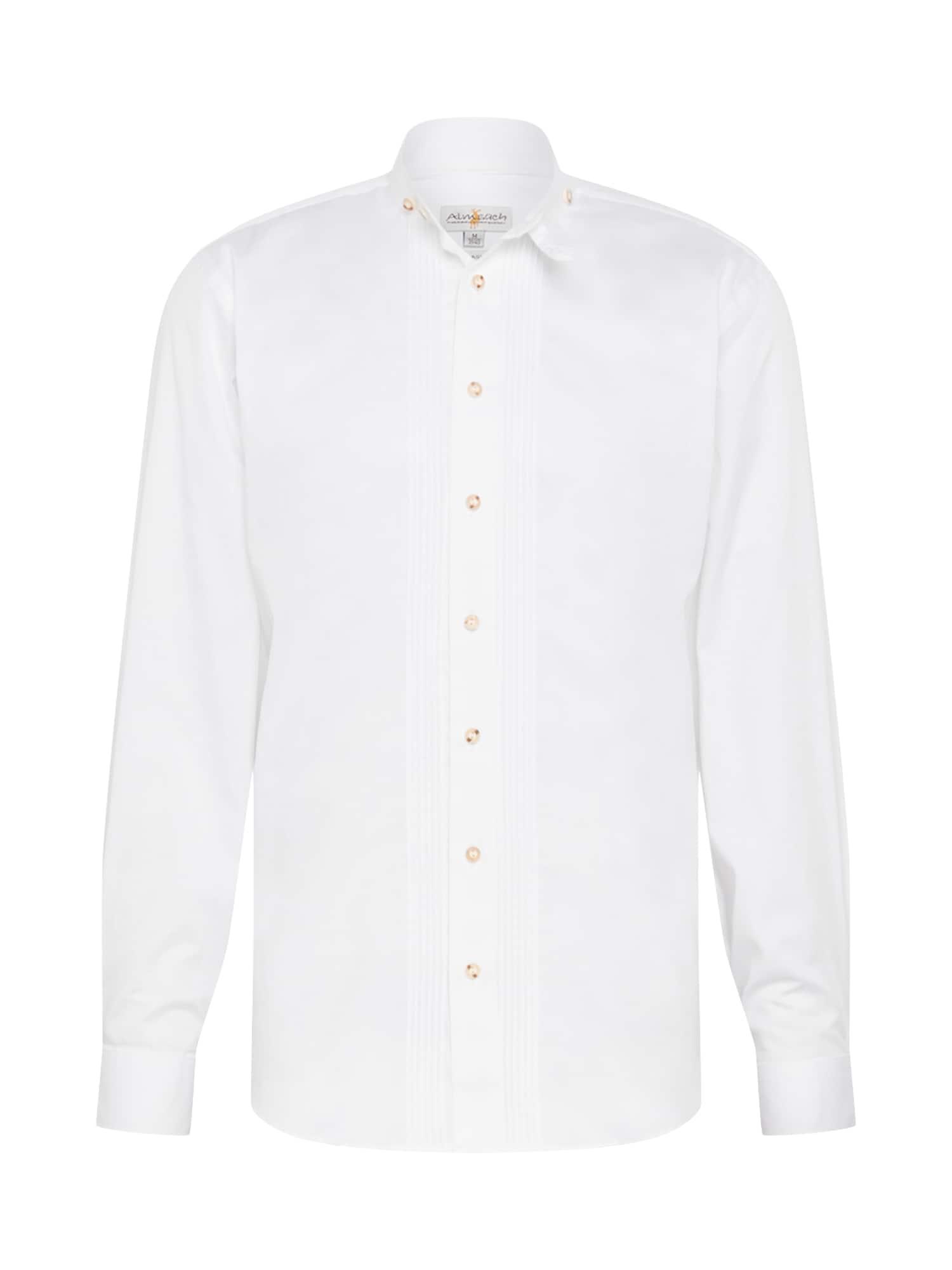 ALMSACH Tradiciniai marškiniai balta