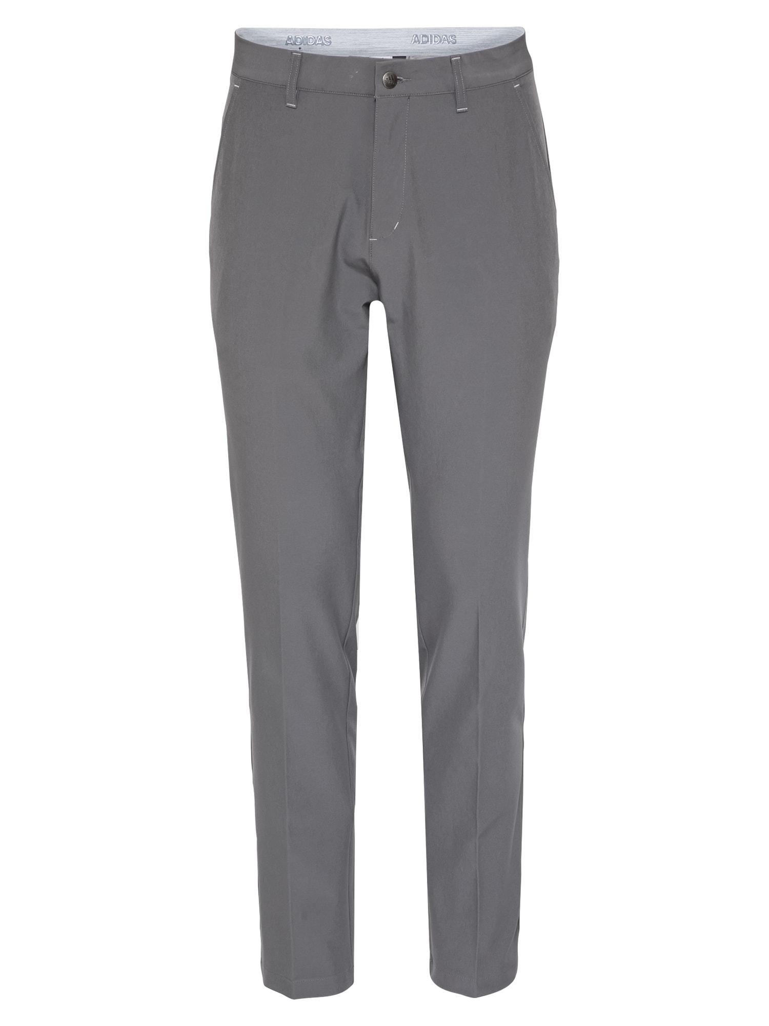 adidas Golf Sportovní kalhoty  šedá
