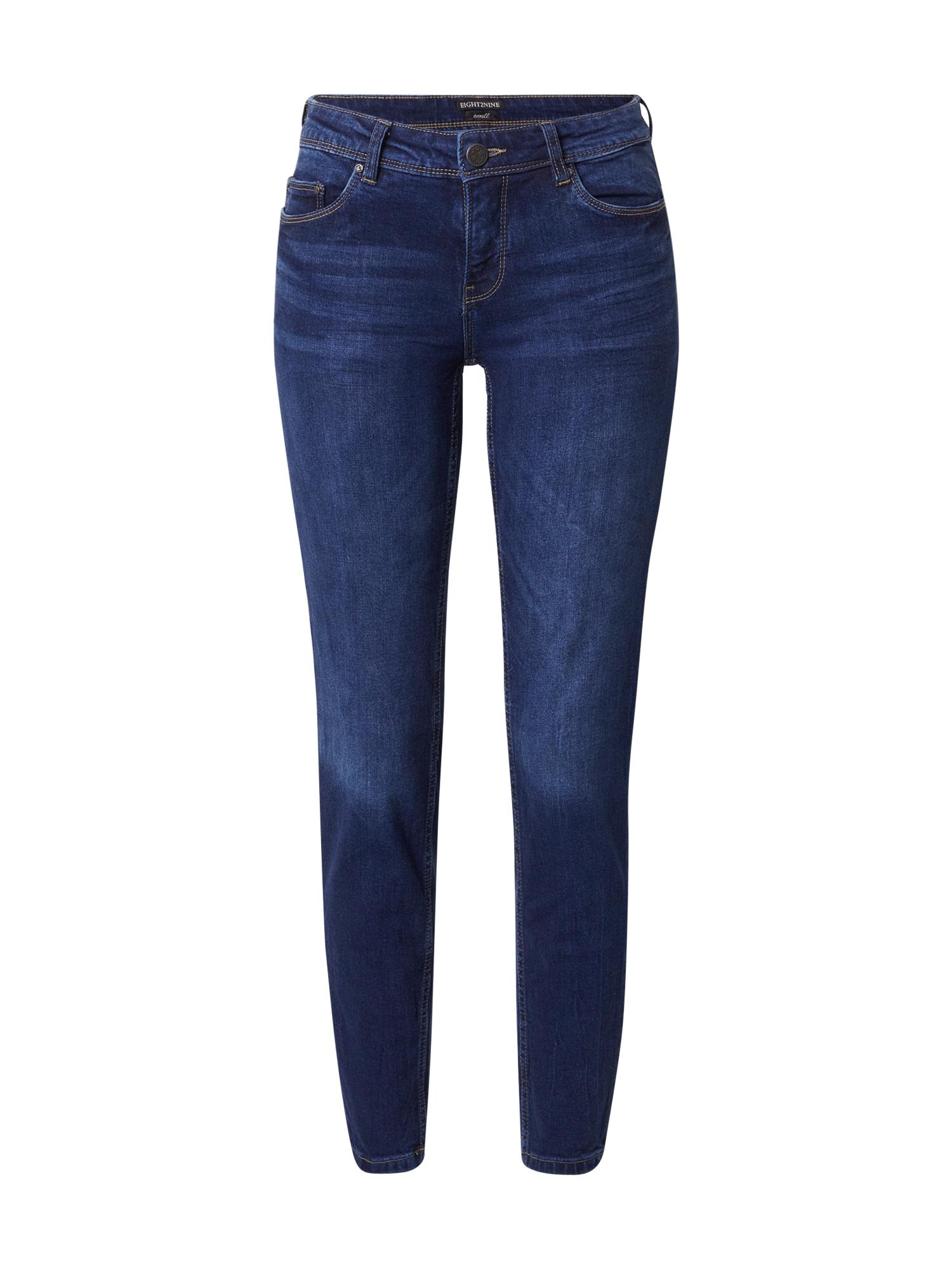 Eight2Nine Džinsai tamsiai (džinso) mėlyna