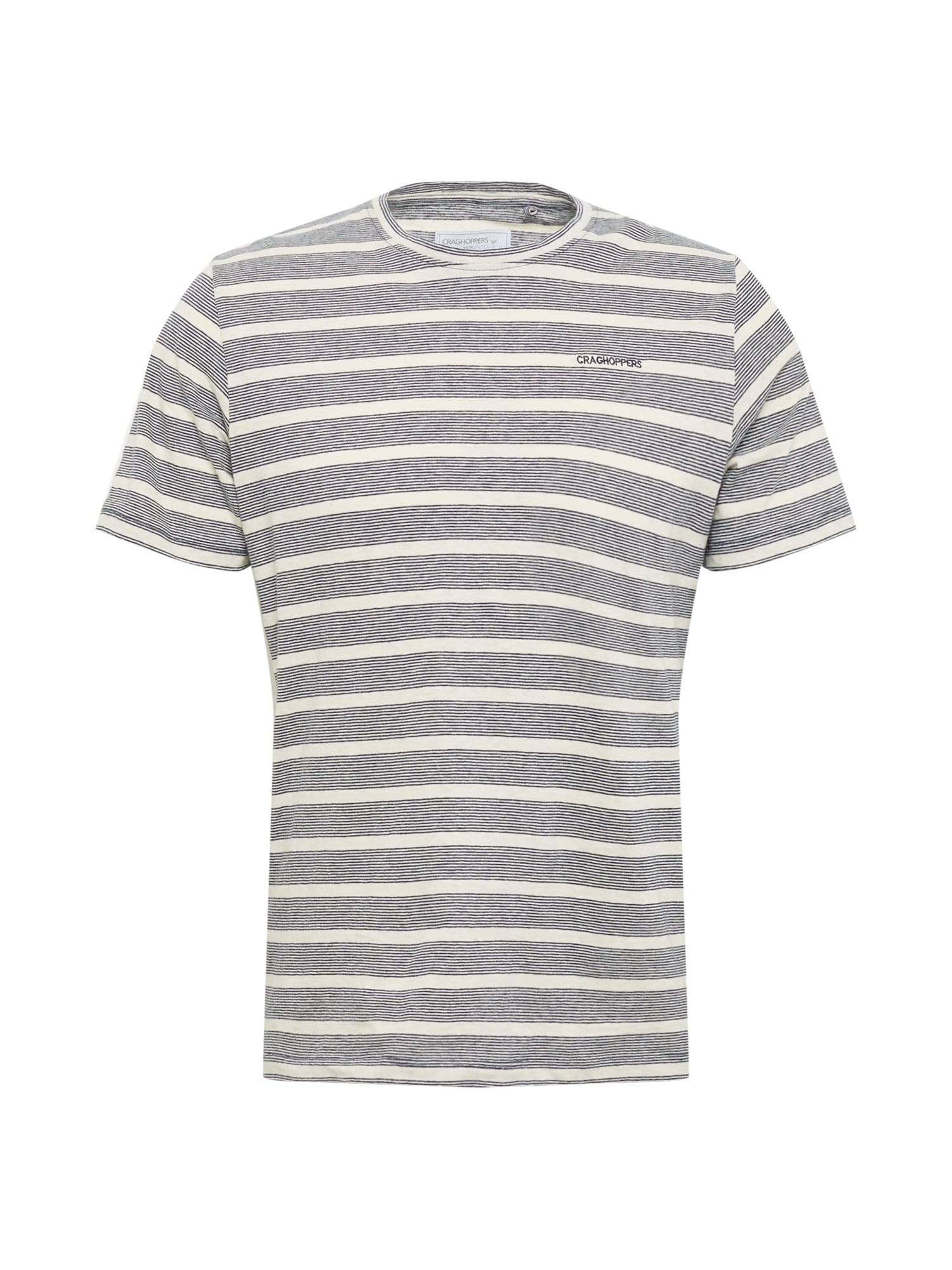 CRAGHOPPERS Sportiniai marškinėliai tamsiai mėlyna / balkšva
