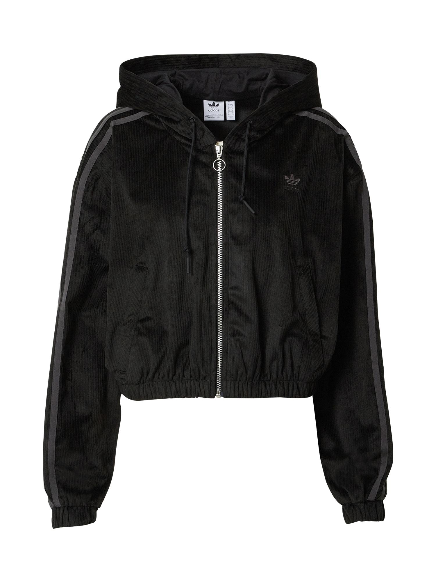 ADIDAS ORIGINALS Funkční bunda  černá