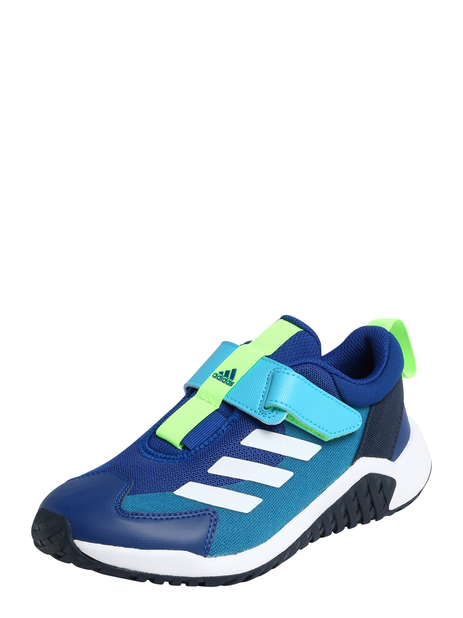 ADIDAS PERFORMANCE Sportiniai batai mėlyna / balta / neoninė žalia / turkio spalva