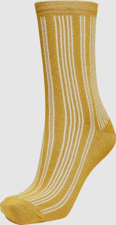 Selected Femme Lana Rib Knit Socks