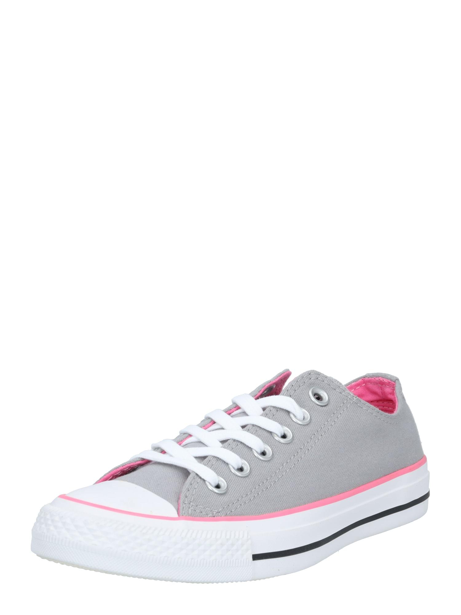 CONVERSE Tenisky  pink / šedá