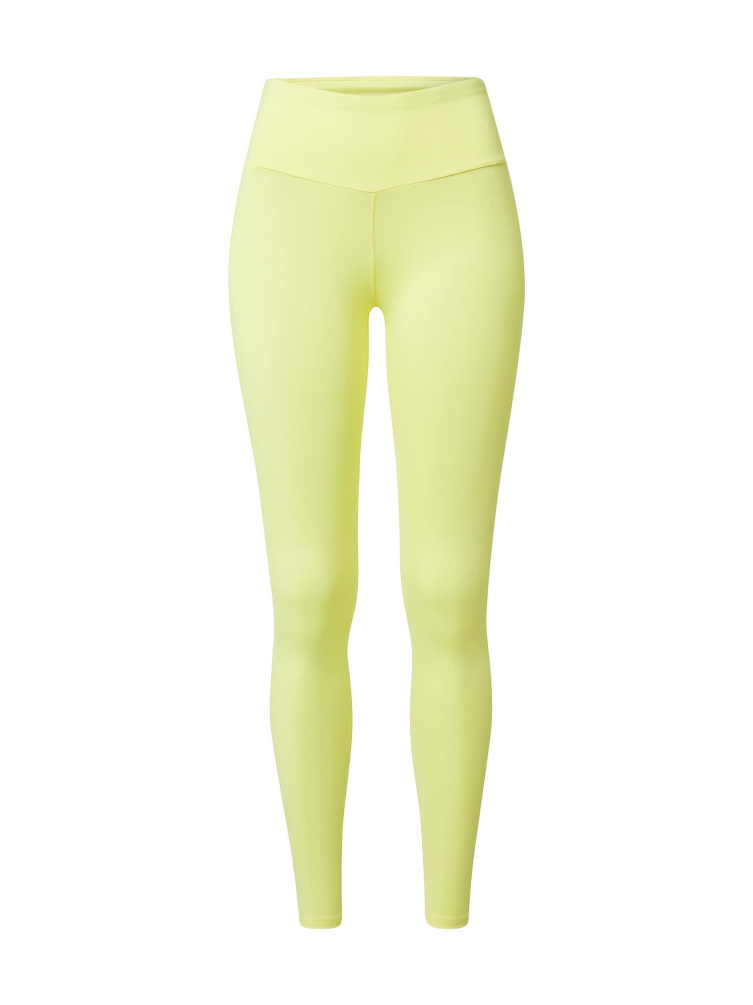 Hey Honey Sportinės kelnės neoninė geltona